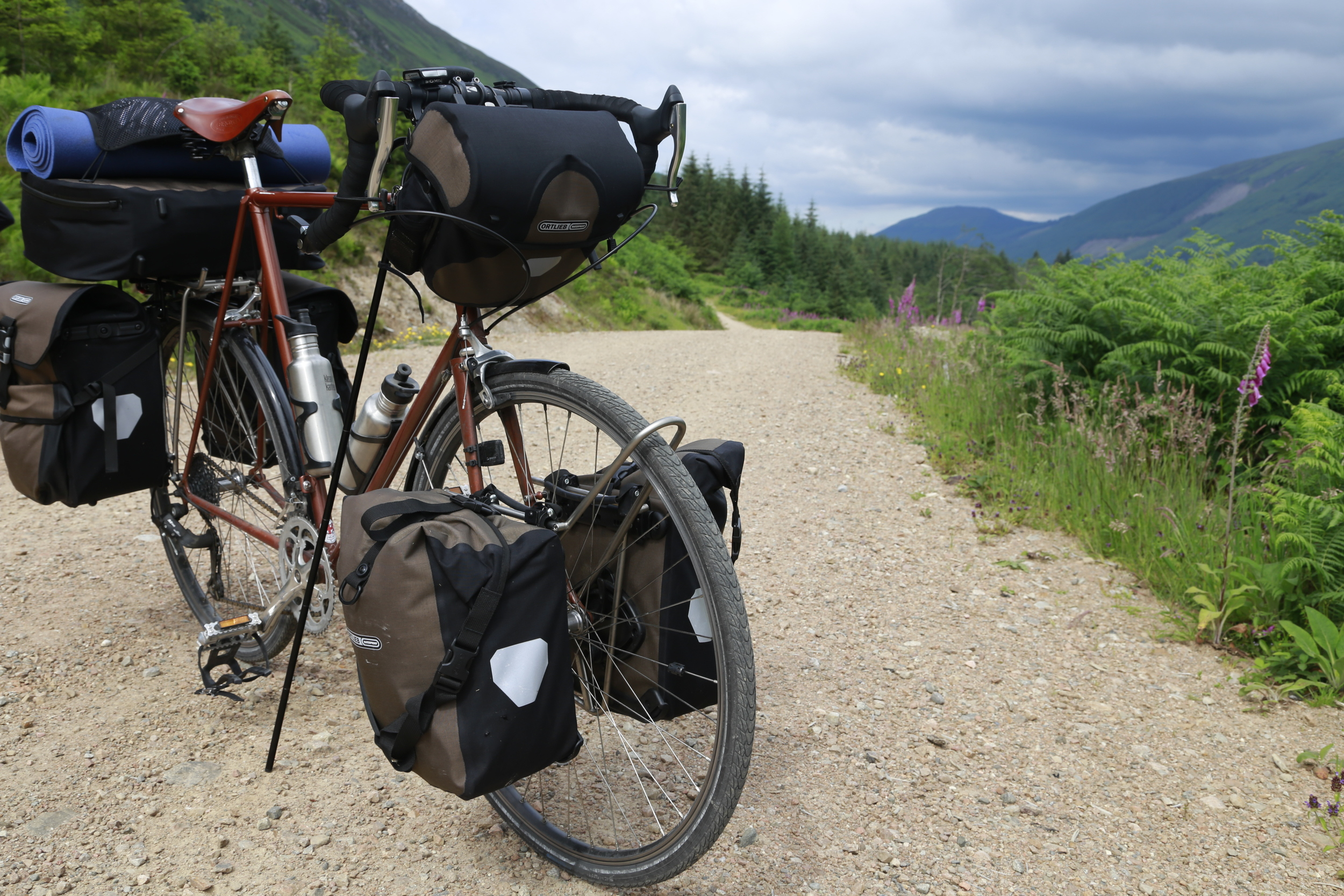 lejog, scotland, glen coe way, highland way, bicycle touring, bicycletouringapocalypse, bikepacking, photo, canon 6d