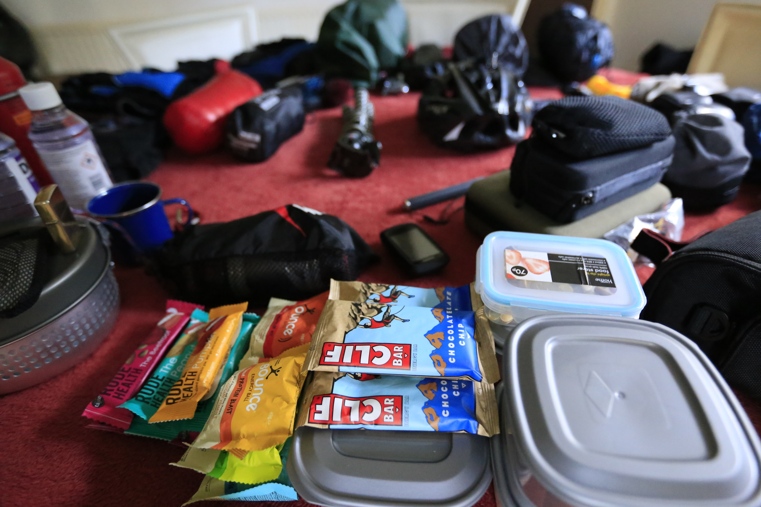 clif, clif bar, rude health, trangia, packlist, bikepacking, cycling, cycling gear, blog, bicycle touring apocalypse