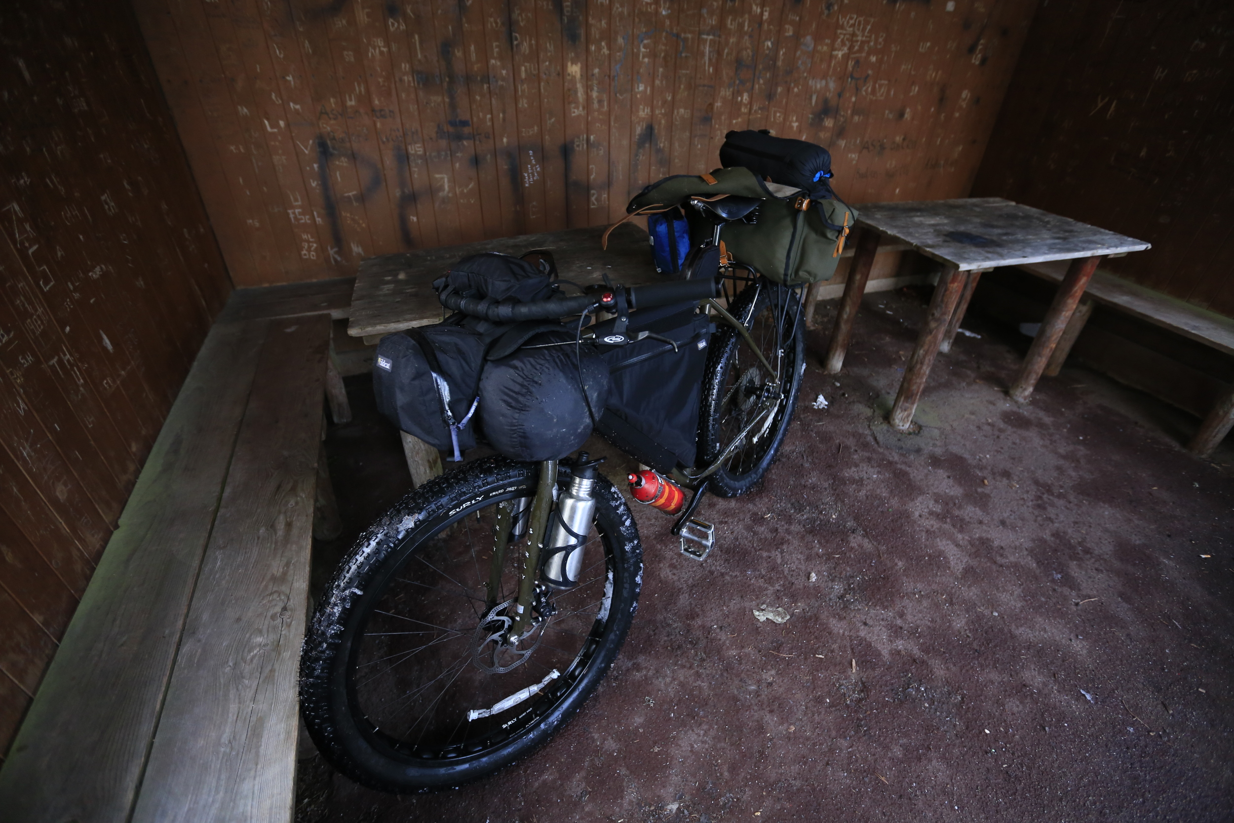 The   Surly ECR   was unstoppable throughout the trip.