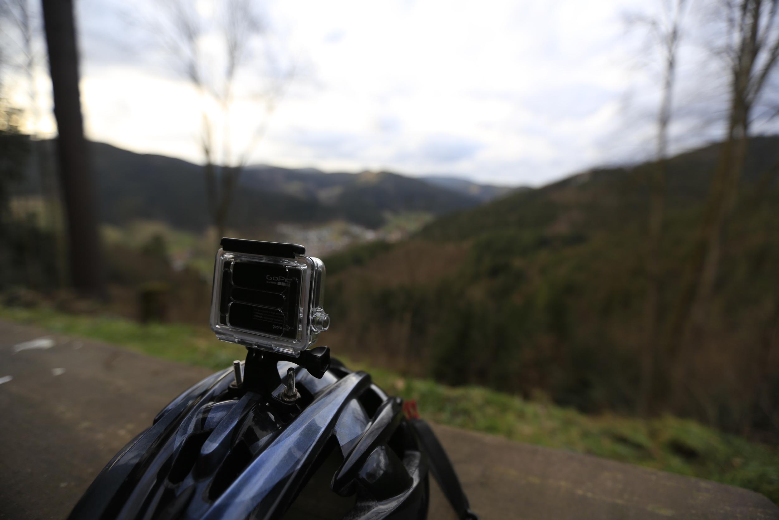 gopro, gopro hero 3, gopro hero 4, be a hero, bikepacking, bikepacking blog, cycling, cycling blog, travel, adventure, review, black forest, bikepacking, woodland, singletrack, helmet, mtb, mountain biking