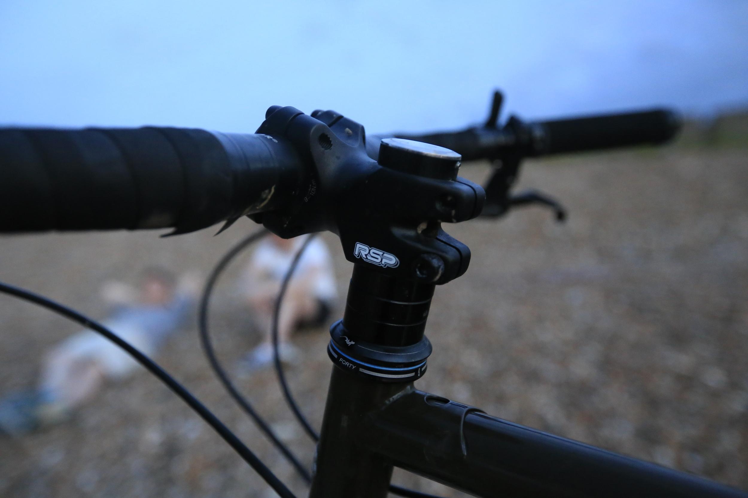 rsp, raleigh bikes, jones h bar, stemcaptain, grip tape, steel frame, surly, surly ecr, cycling gear, touring bike, touring bikes, bike gear, adventure cycling, ride, bikepacking,
