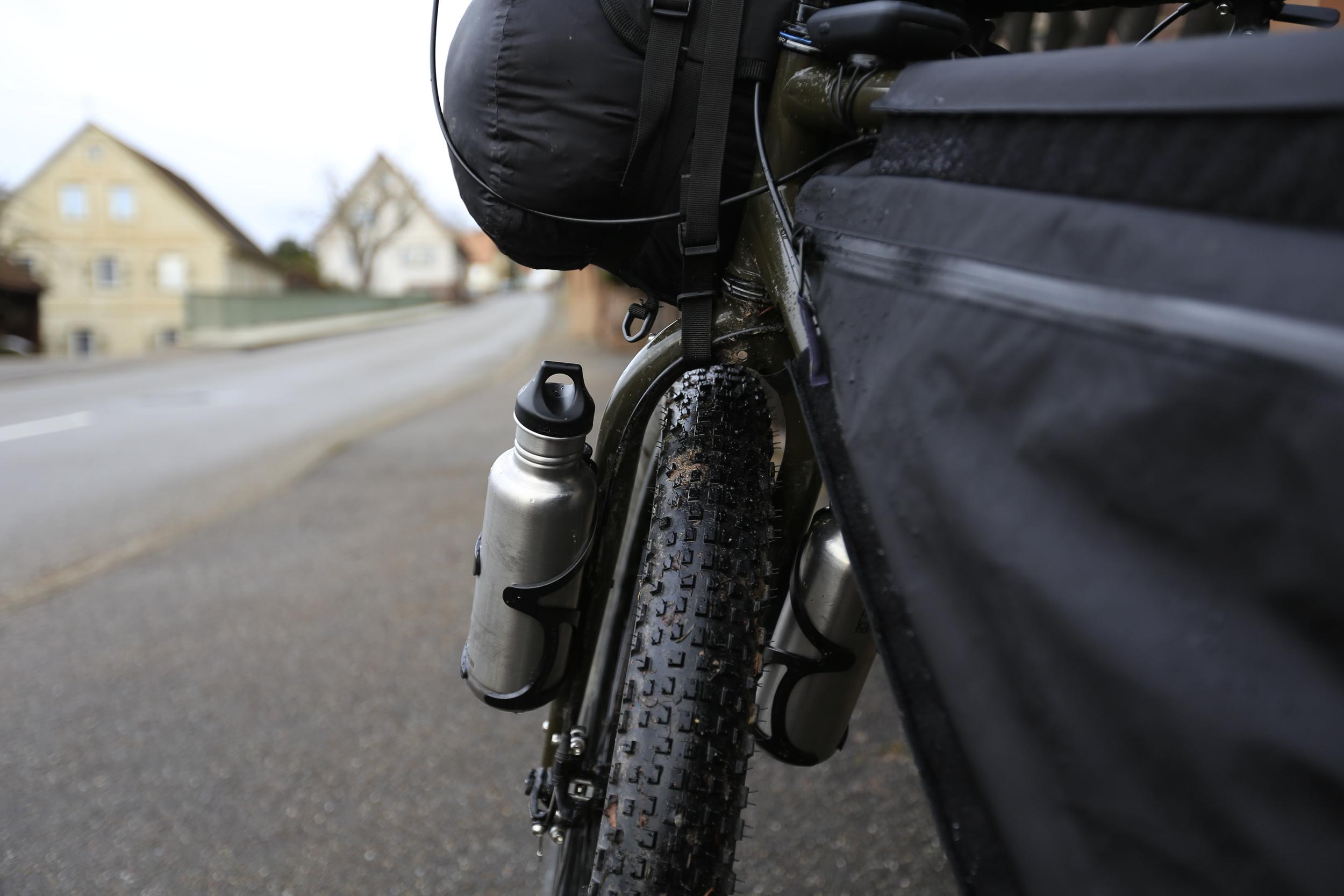 klean kanteen surly, surly ecr, bikepacking blog, cycling blog, wildcat gear, leopard, travel blog