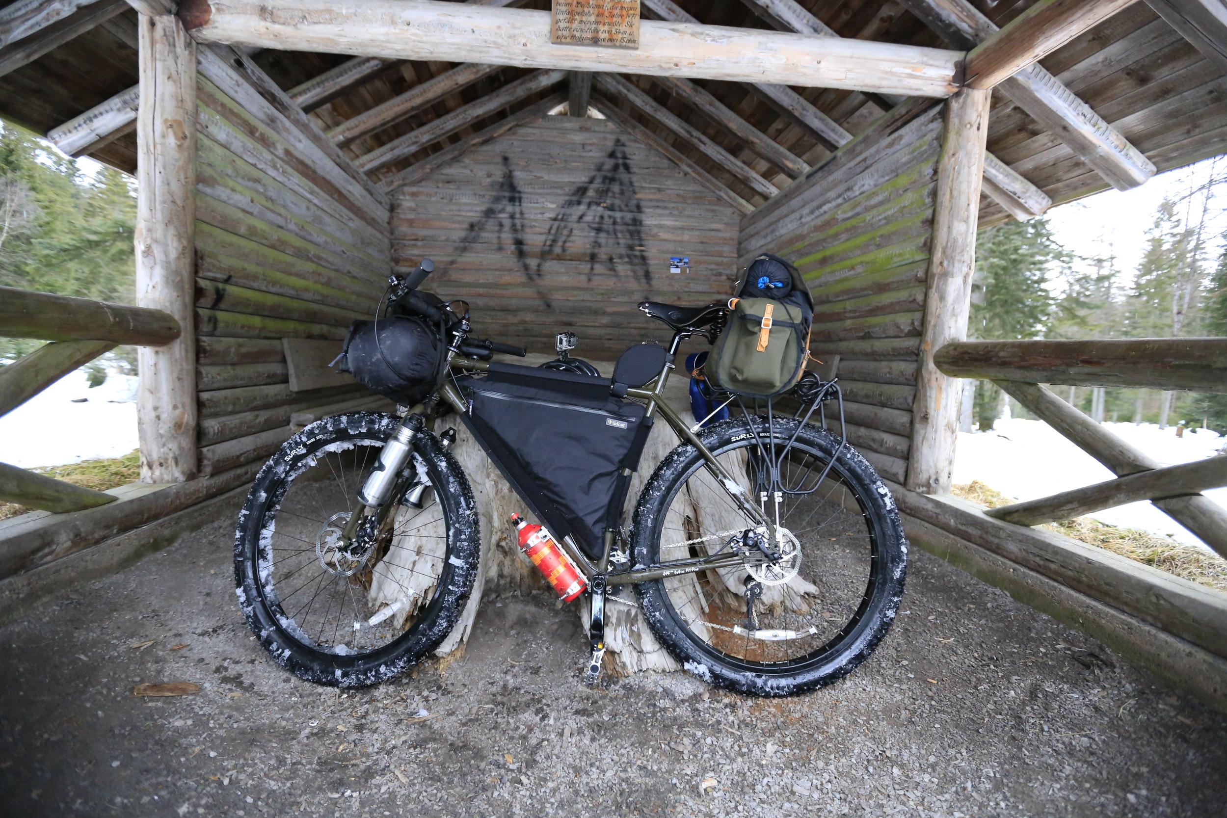 surly, surly ecr, bikepacking blog, wildcat gear, carradice, revelate designs, jerrycan, knards, trangia, jones h bar, brooks, bikepacking blog, cycling blog, bicycle touring apocalypse