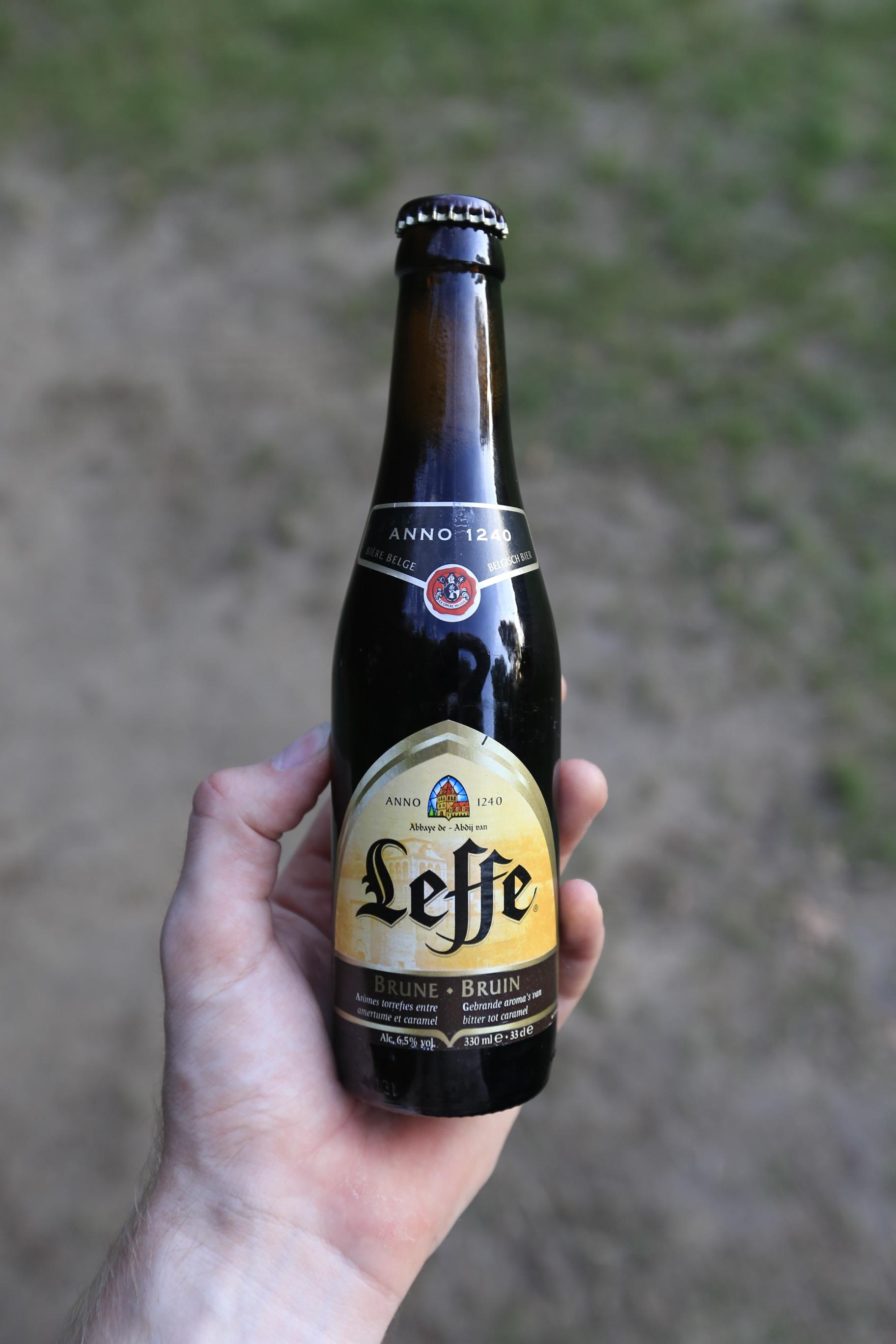 Leffe  , the iconic Belgium beer.