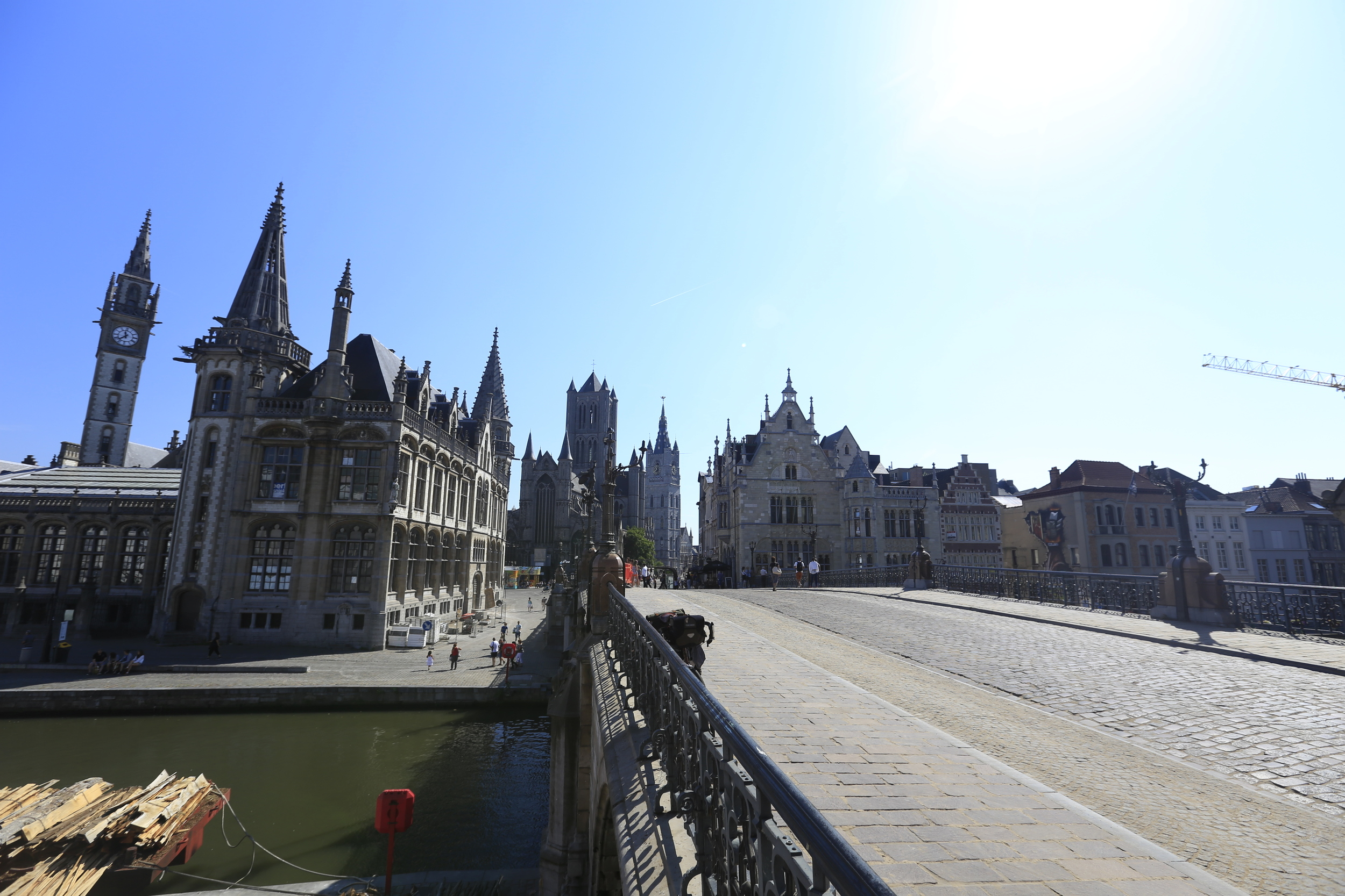 The beautiful city of Ghent.