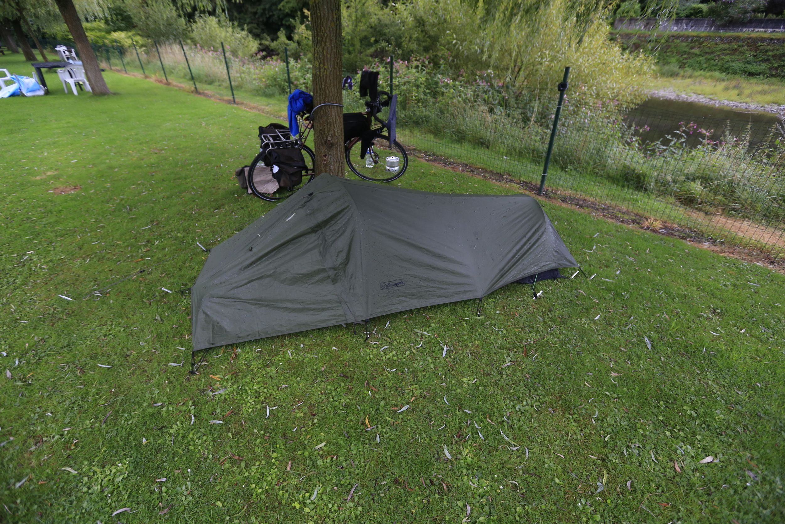 snugpak, snugpack ionosphere, one-man tent, tent, camping, bikepacking tent, travel, cycle, ride, cycle touring tent, lightweight bikepacking gear