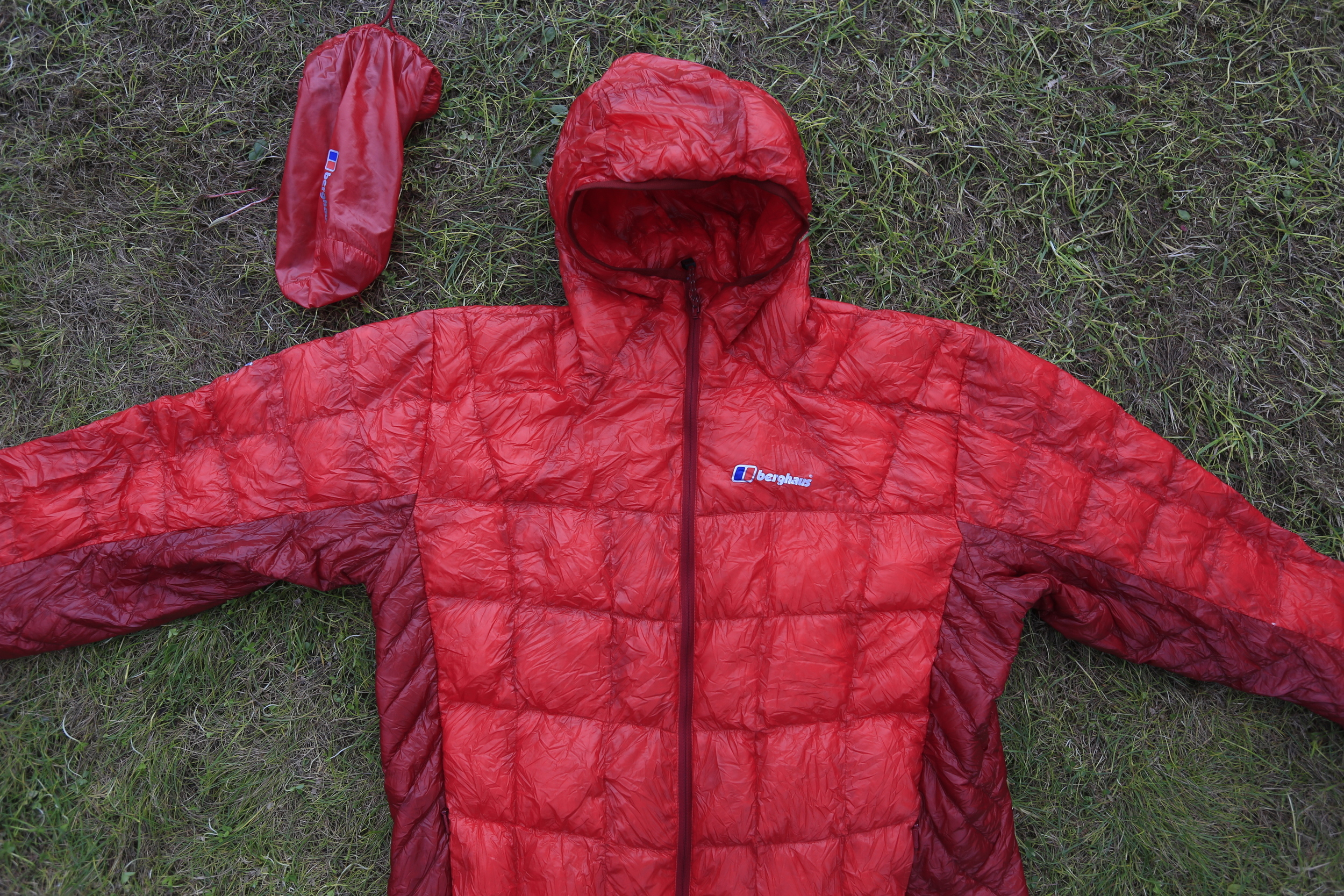 As always I brought along my super lightweight   Berghaus Hydrodown   jacket.
