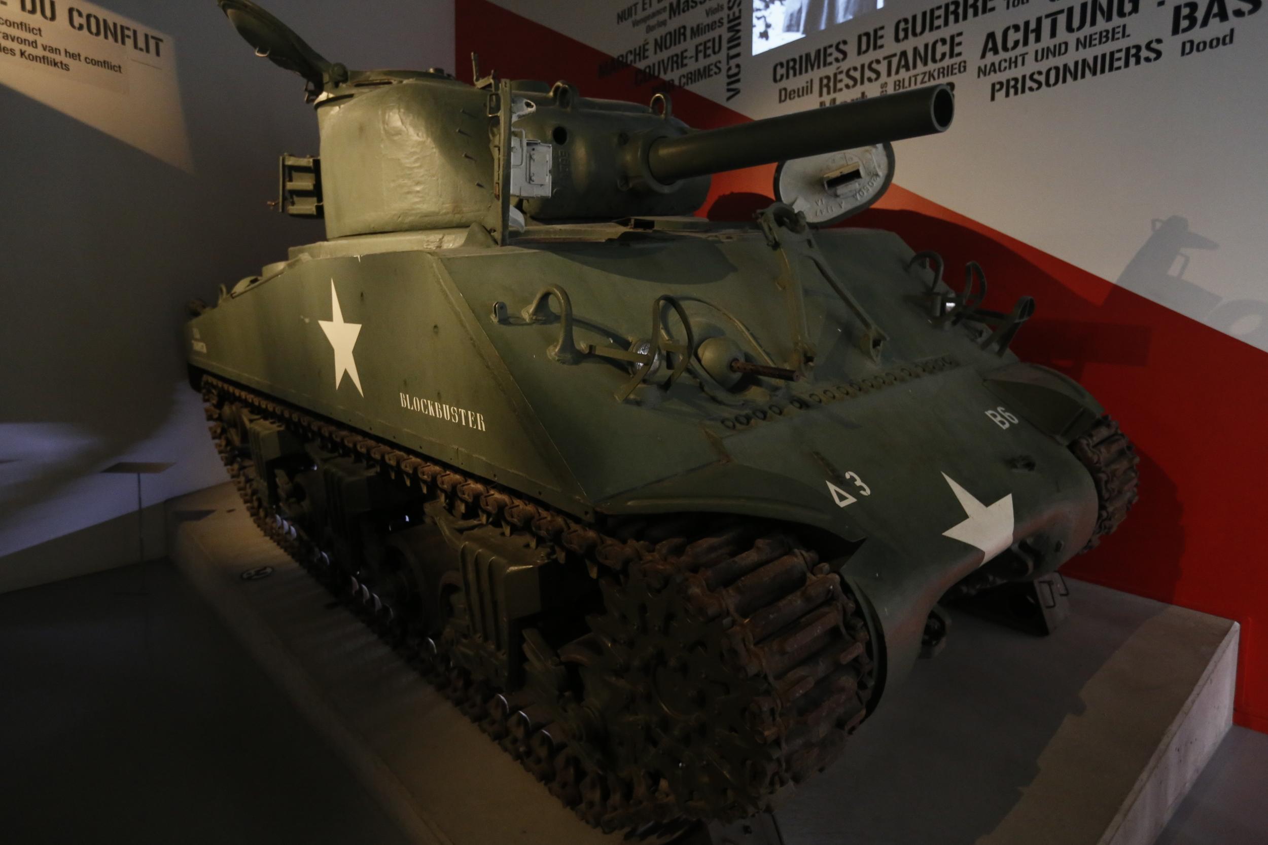 Bastogne WWII museum.