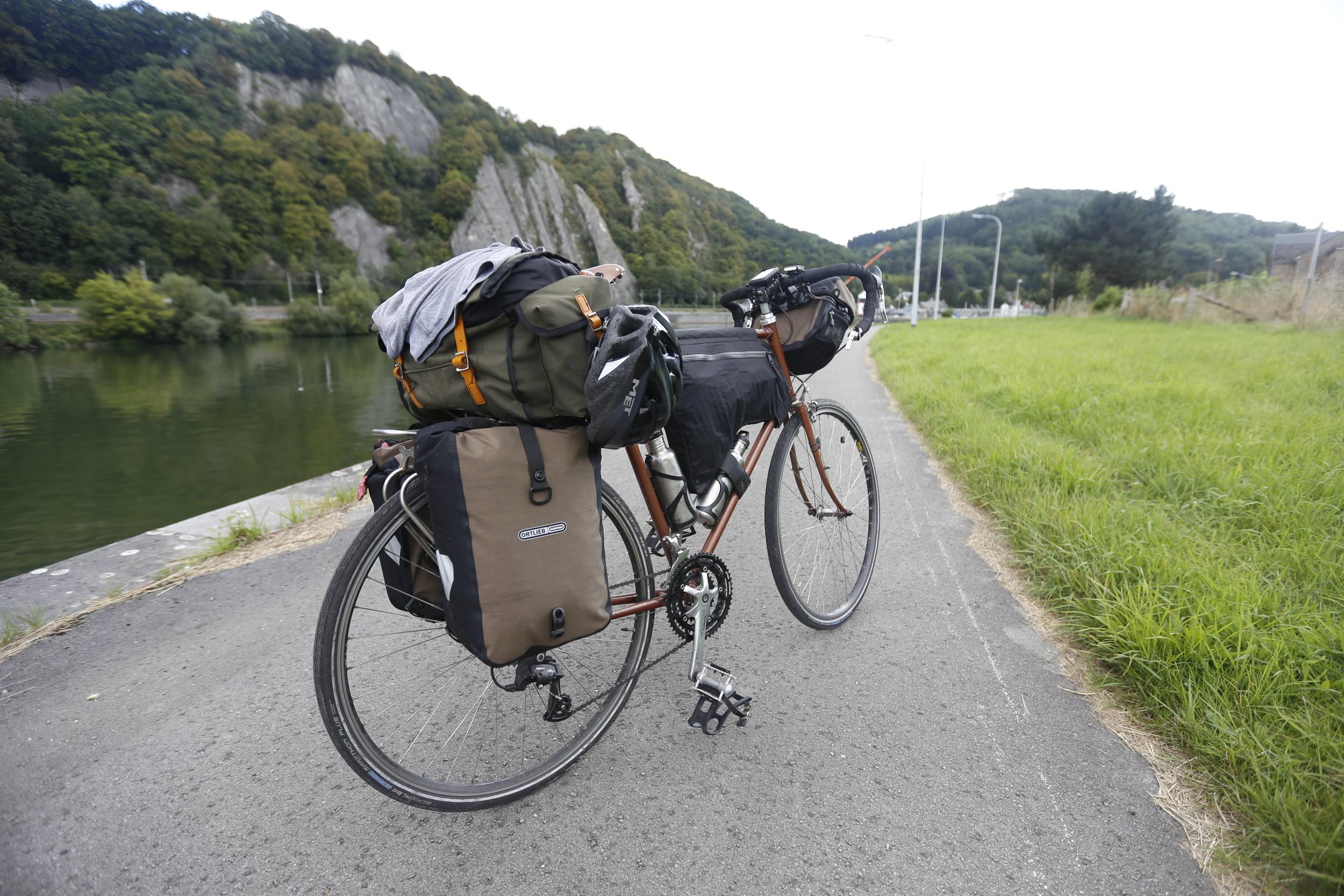 raleigh, raleigh bicycle, vintage raleigh, raleigh tourer, touring bike, raleigh touring bike, custom bike, custom touring bike, bikepacking, bikepacking bike, bikepacking blog, cycling blog, cycle touring blog, bikepacking website, mavic, ortlieb, wildcat, wildcat gear