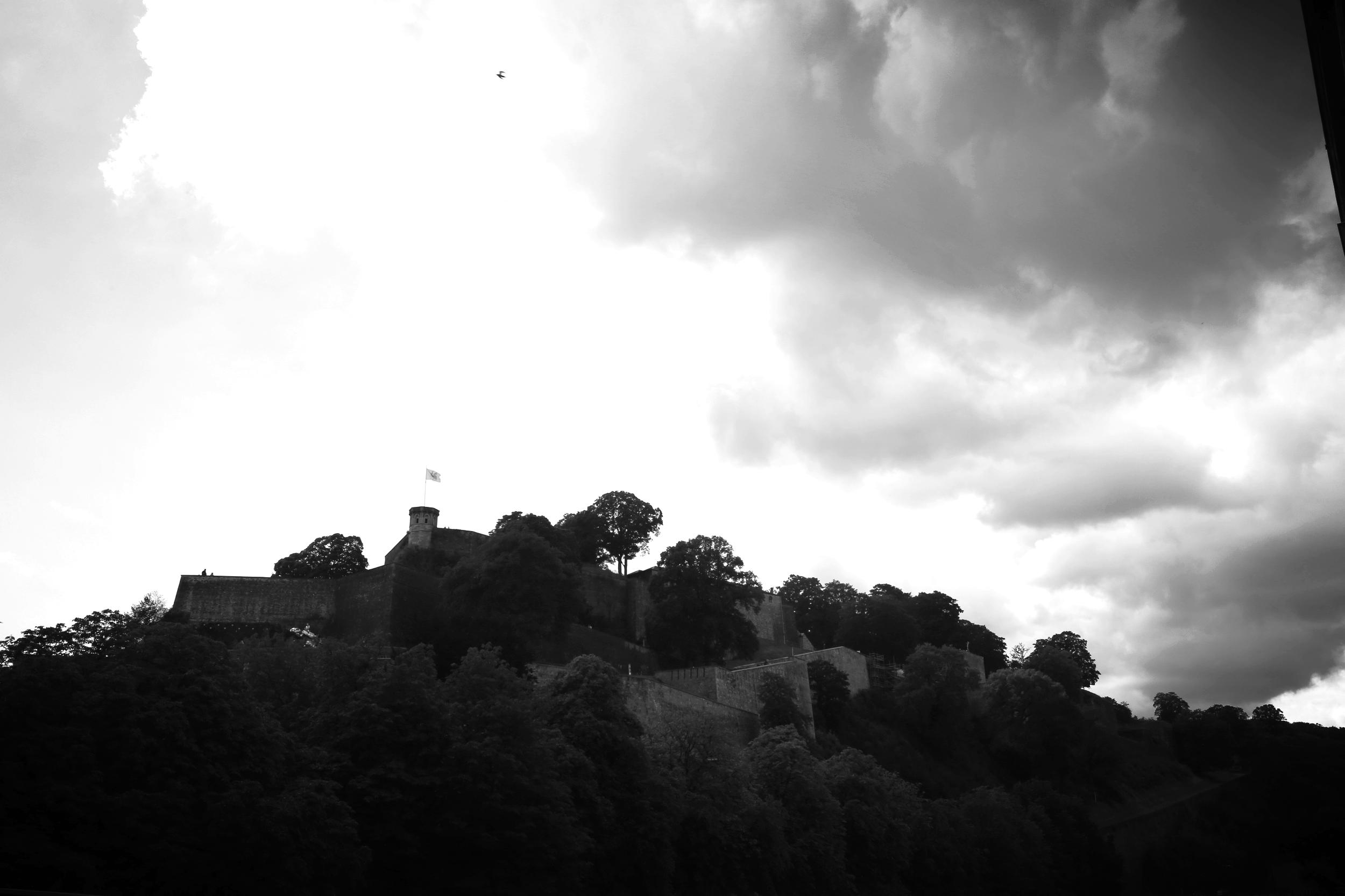 The castle at Namur.