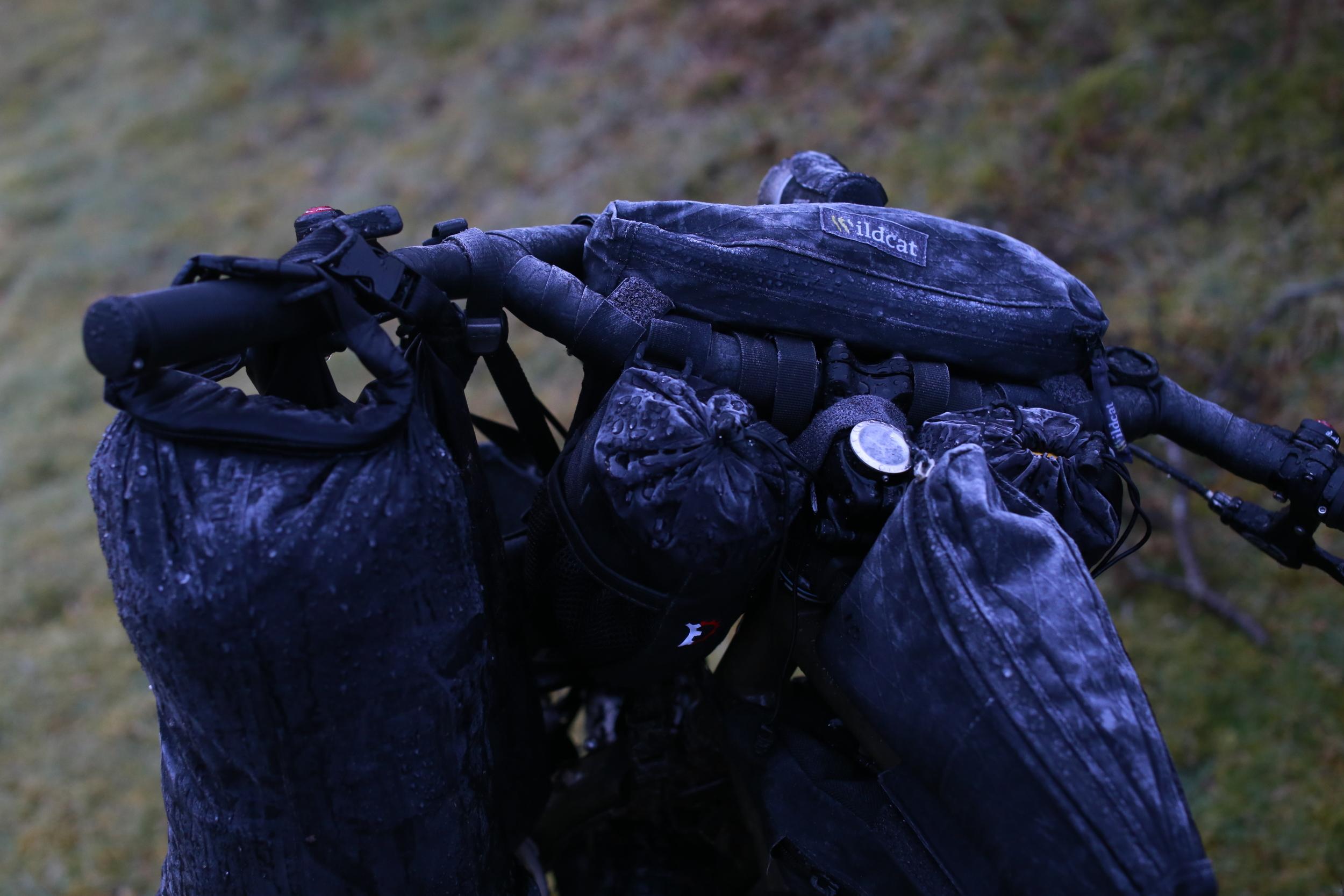 wildcat, wildcat gear, bikepacking bags, revelate designs, bikepacking harness, bikepacking bags, stem captain, snug pak, snugpak dri sak, dry sacks, bicycle touring apocalypse, surly, surly ecr, photography, freezing, bikepacking blog, cycling gear, bikepacking gear, travel blog