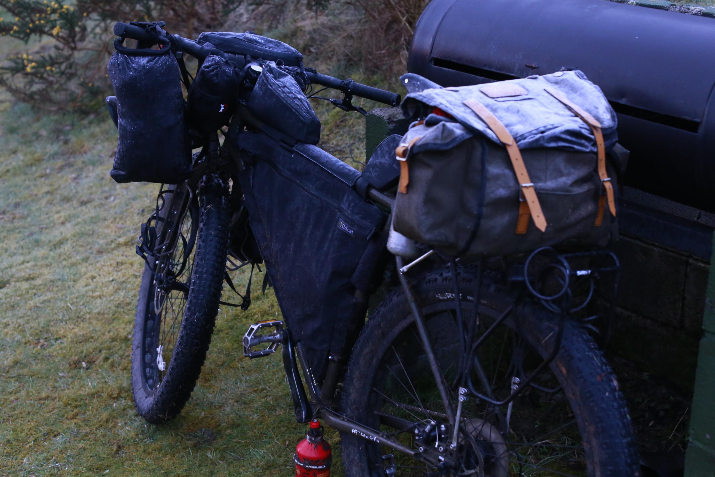 surly, surly ecr, bikepacking, bikepacking blog, bicycle touring, cycle touring, bicycle touring apocalypse, wildcat, wildcat gear, carradice longflap camper, snugpak, knards, surly, surly bikes, surly ecr, bicycle touring apocalypse, steel frame, 29er, trangia, surly rack, surly rear rack
