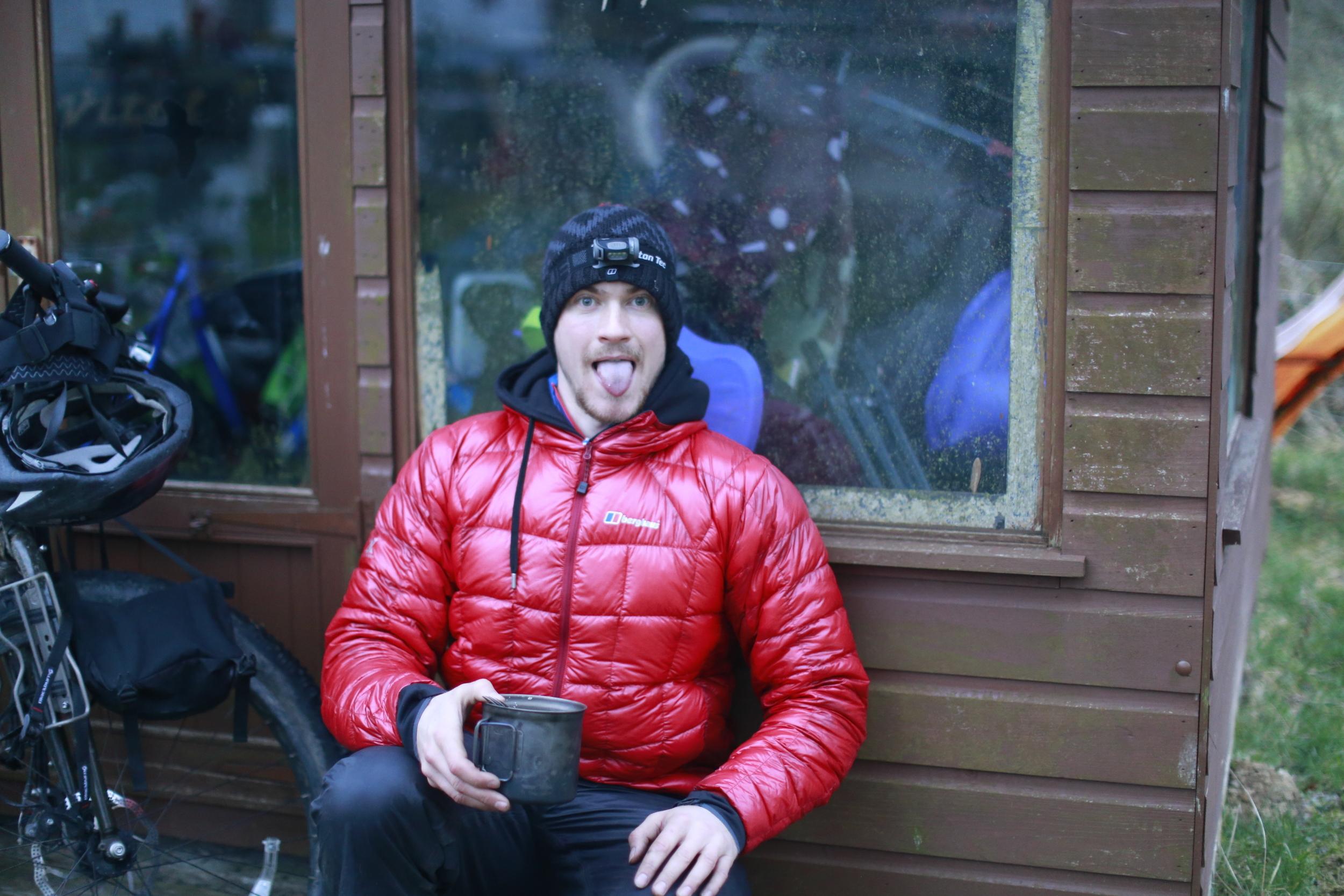 "breakfast, bear bones bivvy gear, food, porridge, rude health, rude health porridge, jack macgowan, the man behind bicycle touring apocalypse, travel, blog, bicycle touring apocalypse, bicycle touring, cycle touring, wales, cycling blog, photography blog, explore, adventure, adventure cycling, cycle, ride, discover, discovery, surly, surly ecr, wildcat, wildcat gear, revelate designs, trangia, klean kanteen, knards, fat bike, 3"" tyres, surly rear rack, snugpak, blackburn designs"