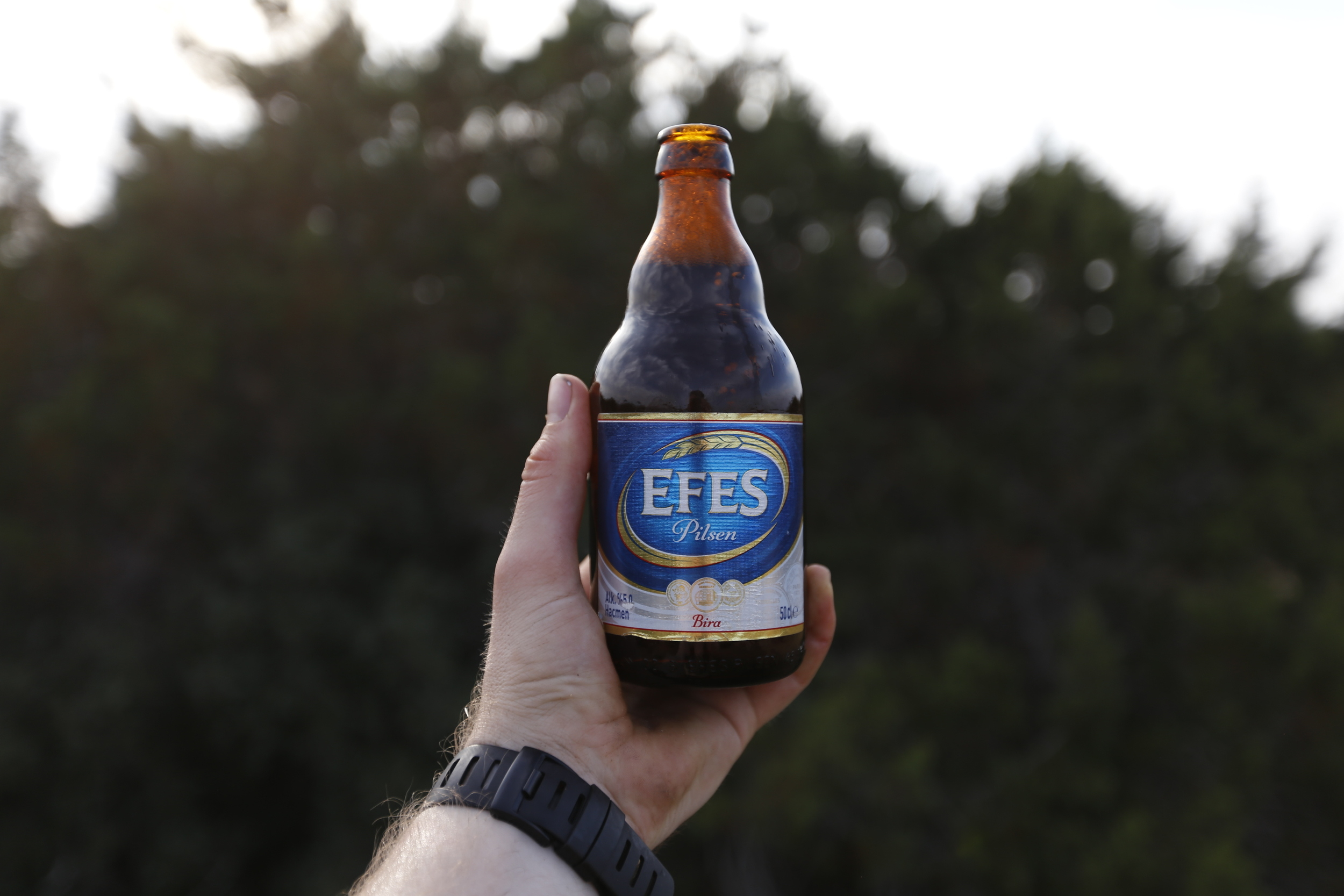 Efes   is North Cyprus' most popular beer.