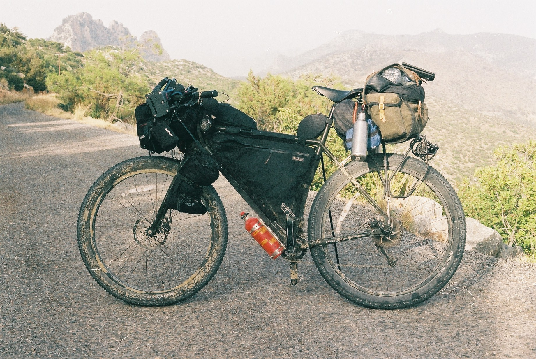 surly, surly ear, ear, surly bikes, 29er, mob, mountain bike, bike packing blog, bicycle touring apocalypse, bikepacking cyprus, bikepacking greece, ecr, knards, revelate designs, carradice, trangia, film photography, jack macgowan, go north cyprus, canon ae1