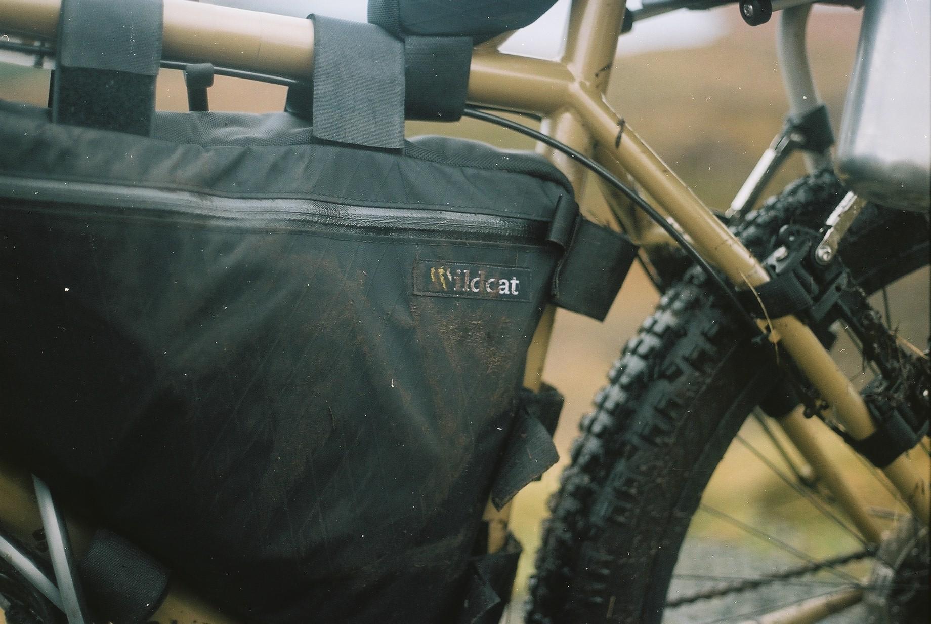 My Wildcat Gear Leopard frame bag was flawless.