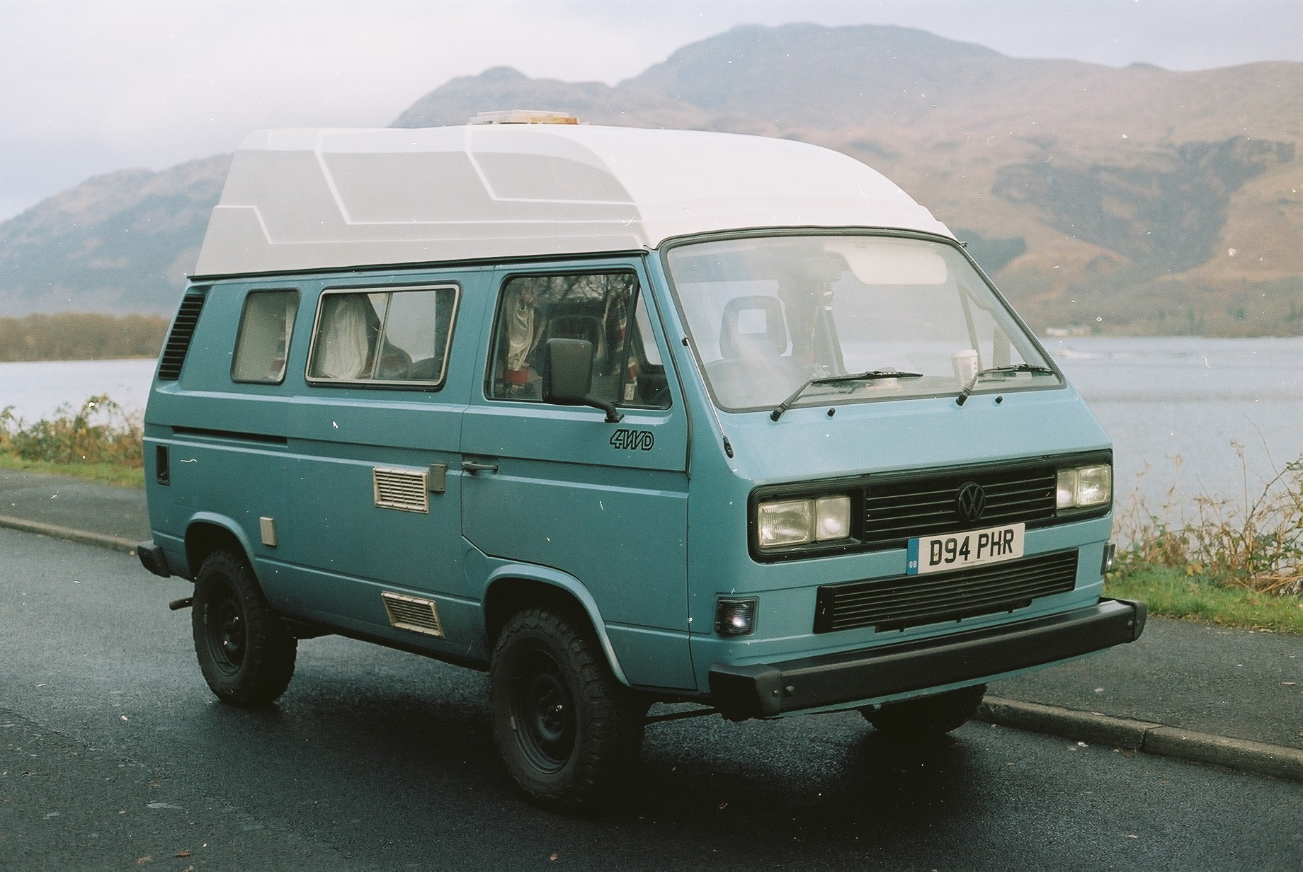 vw, vw t3, vw t3 syncro, syncro, vw syncro, vanagon, 4wd, t25, t3, van life, van life blog, jack macgowan, bicycle touring apocalypse, travel blog, volkswagen campervan, bfg all terrain, scotland, isle of skye, bikepacking, bicycle touring, cycle touring, film is not dead, canon, canon ae1, 35mm, film camera, film photography