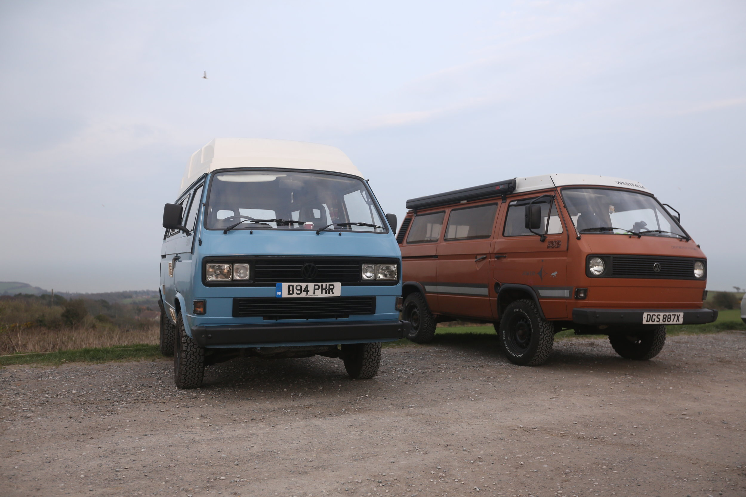 Darren's 2.0 air cooled adventure van.