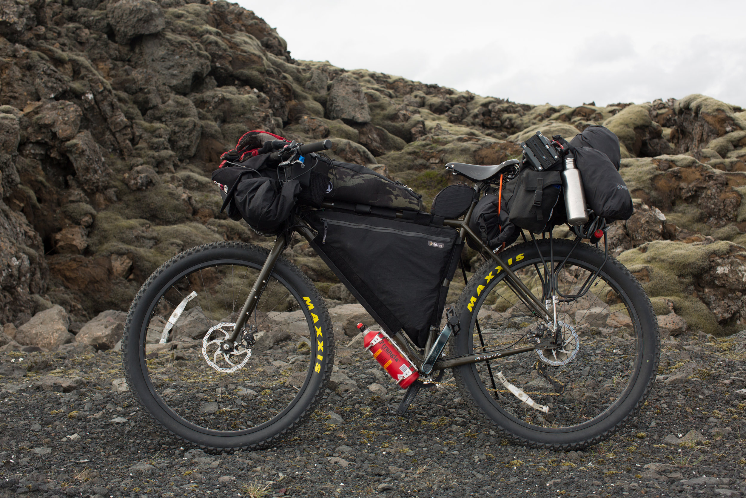 My trusted   Surly ECR   was once again the weapon of choice for the Icelandic Highlands.