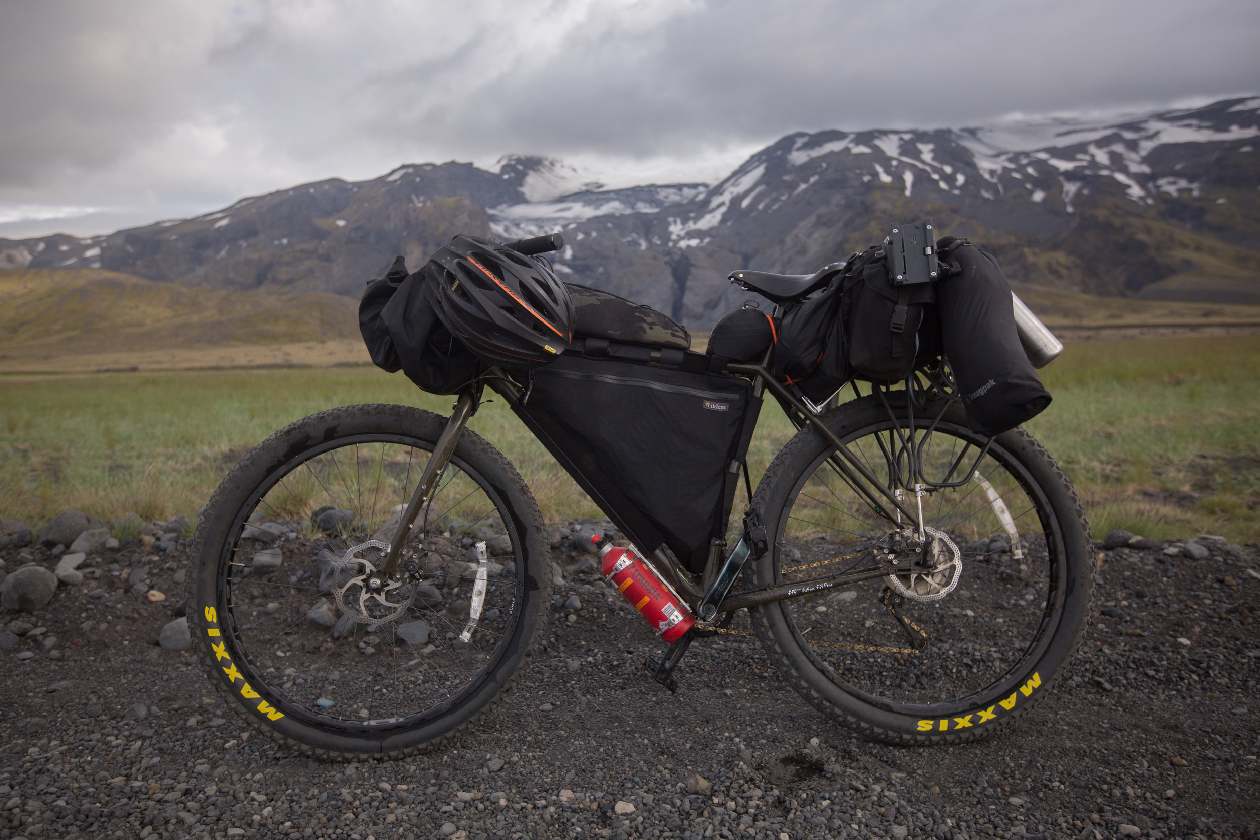 bikepacking, bikepacking blog, bicycle touring, bicycle touring blog, van life, jack mac, jack macgowan, cycling, bicycle, surly, surly bikes, iceland, bikepacking iceland, cycling icealnd, 29er, fat bike, steel frame, bikepacking gear, blog, travel writer, bicycle touring apocalypse, iceland, glacier, iceland glacier