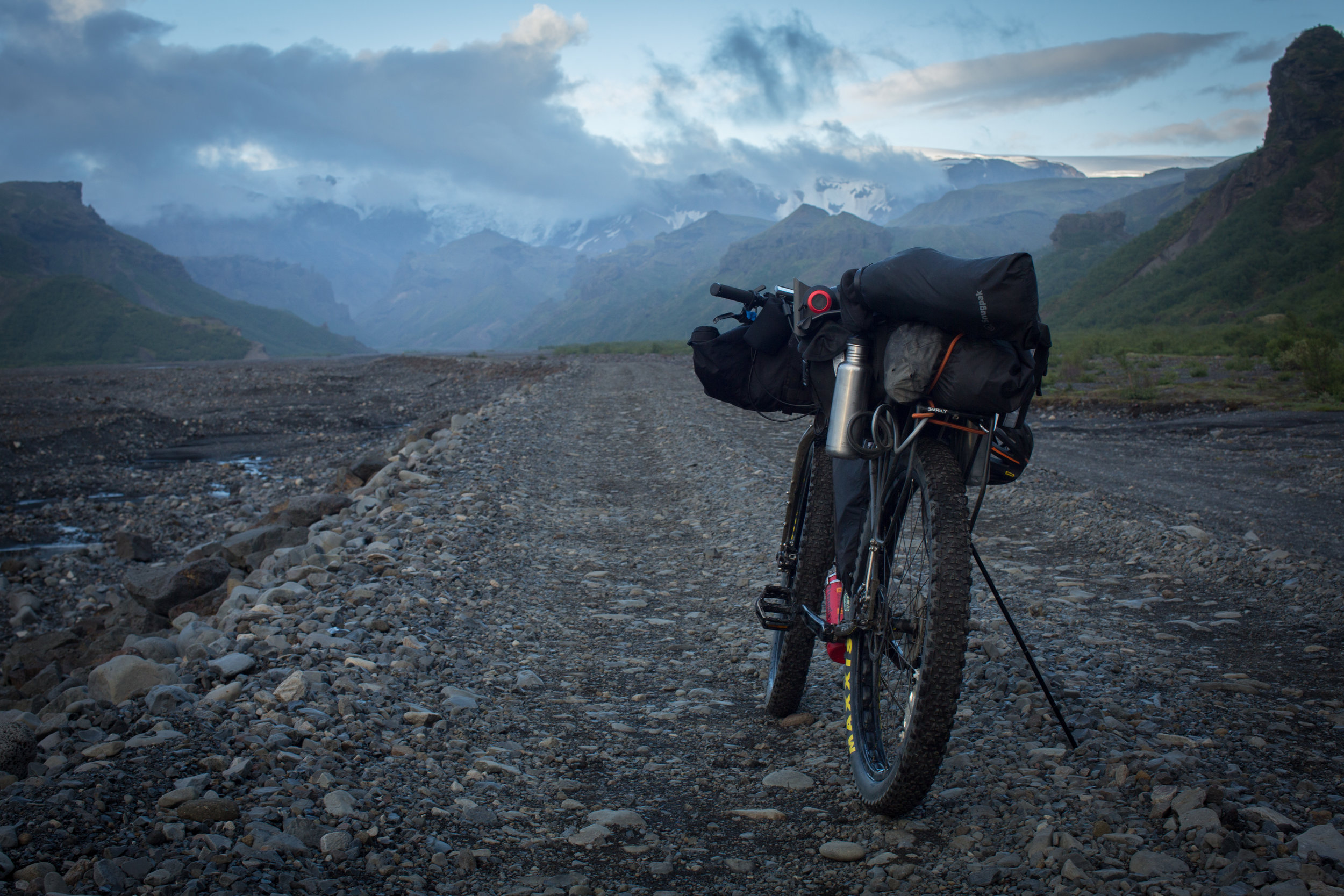bikepacking, bikepacking blog, bikepacking gear, bikepacking routes, bicycle touring, bicycle touring blog, bicycle touring apocalypse, cyclist, jack mac, jack macgowan, van life, surly, surly bikes, 29er, fat bike, iceland, visit iceland, Laugavegur, Laugavegur hiking trail