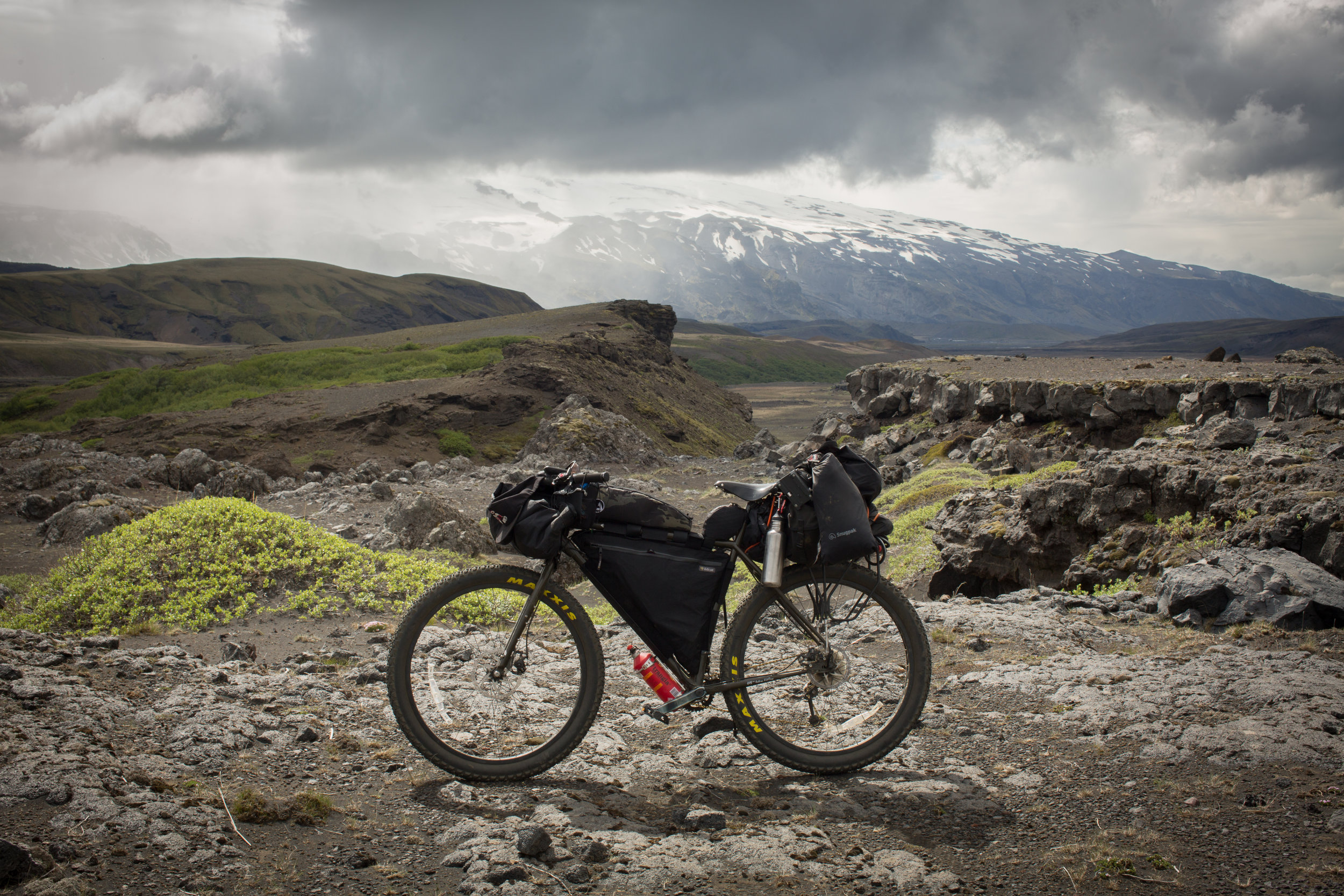 bikepacking, bikepacking blog, bikepacking gear, bikepacking routes, bicycle touring, bicycle touring blog, bicycle touring apocalypse, cyclist, jack mac, jack macgowan, van life, surly, surly bikes, 29er, fat bike, iceland, visit iceland, Laugavegur, Laugavegur hiking trail, wildcat gear, rvelate designs, atm handmade goods, j paks, j paks farvapak, trangia, car sick designs, car sick designs handee randee, get wild matty
