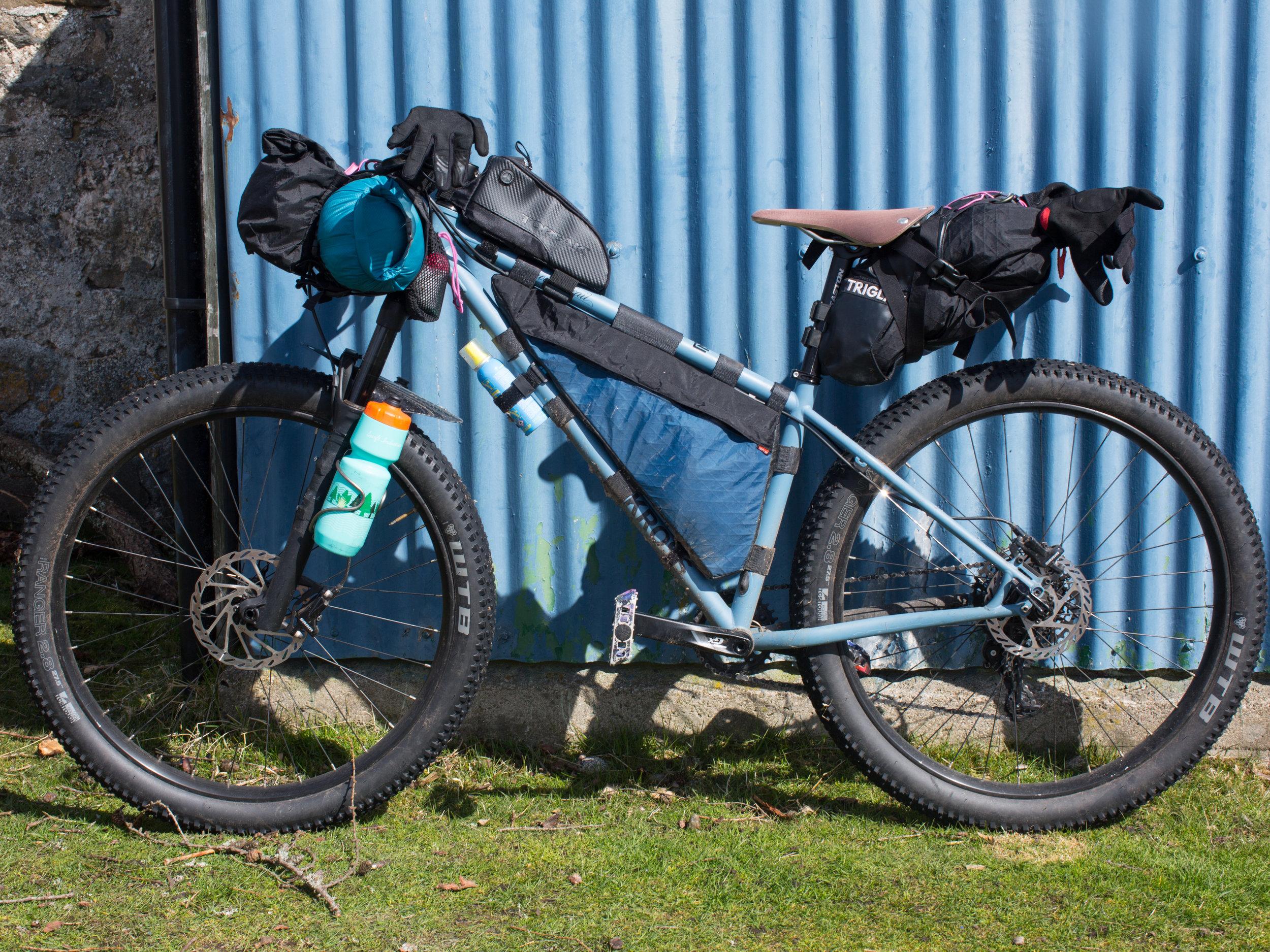 bikepacking, bicycle touring apocalypse, surly, surly bikes, surly karate monkey, karate monkey, bike riding, bicycle touring, steel frame, 29er, bikepacking bags, j paks, carradice, car sick designs, brooks, brooks saddles, jack mac, travel blog, vanlife, vw