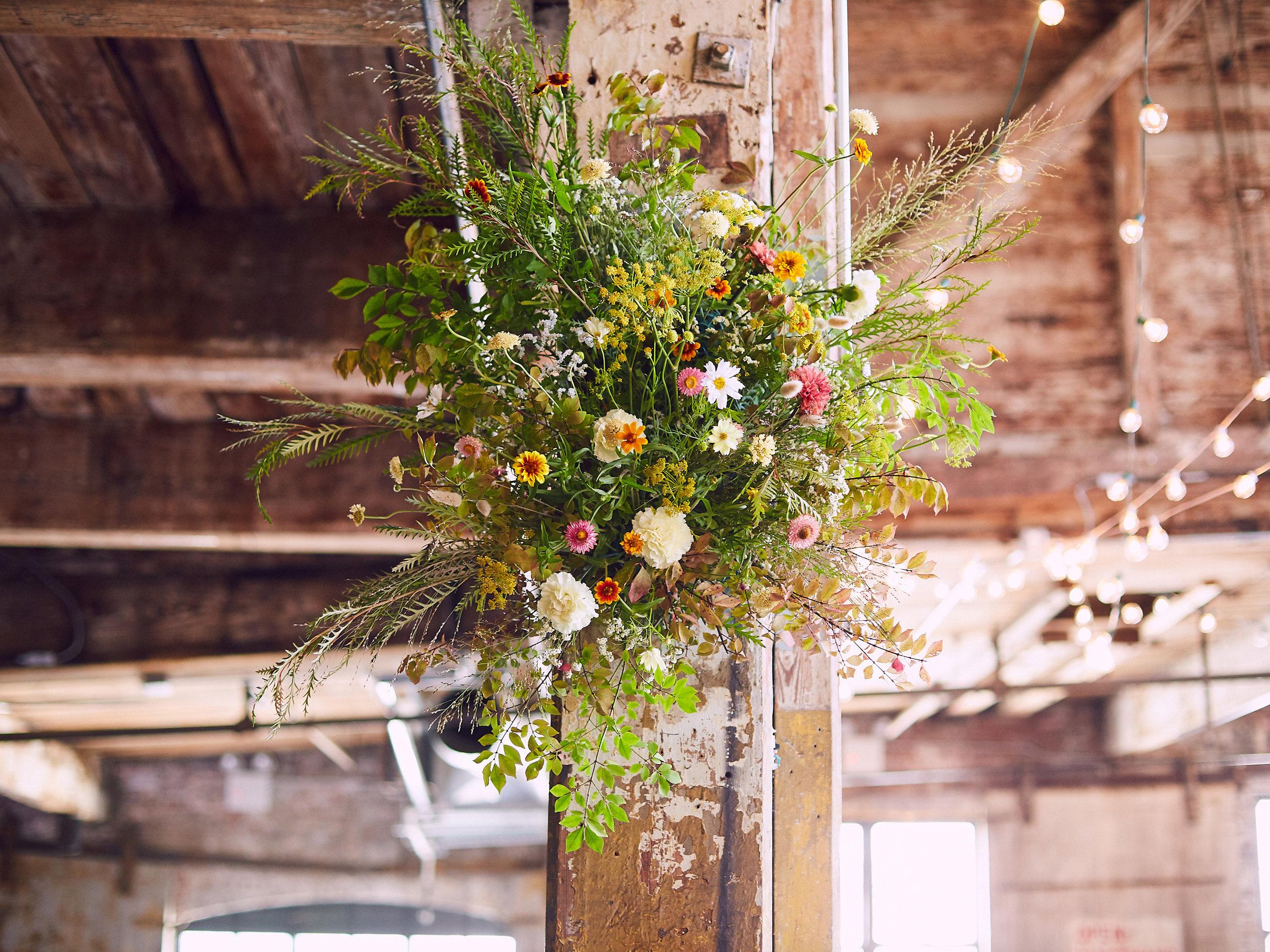 Kevin + Meg I Greenpoint Loft I Brooklyn, NY I Photography by Perry Hall