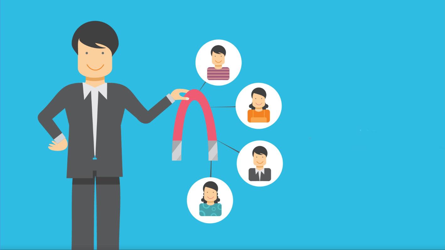 Ikke avbryt potensielle kunder. Tiltrekk dem! -