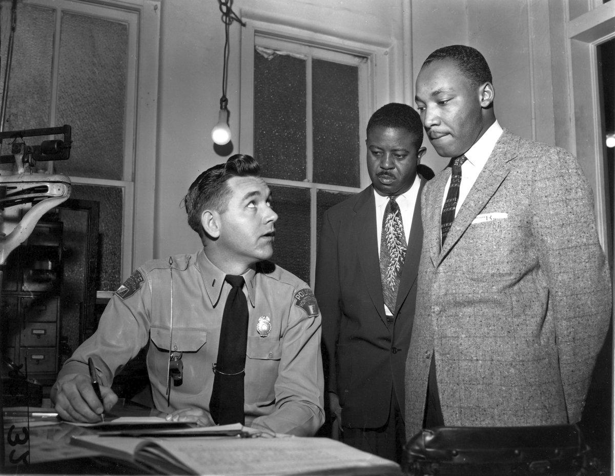 Dr. Martin Luther King Jr. championed the Montgomery Bus Boycott of 1955-56. (GENE HERRICK/AP)