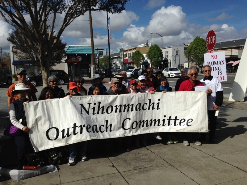 (AhlulBayt News Agency) - On March 25, 200 people marched from San Jose Japantown to San Jose City Hall to express the solidarity between Japanese Americans and American Muslims.