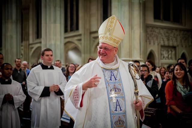 Cardinal Dolan (via  Facebook ).
