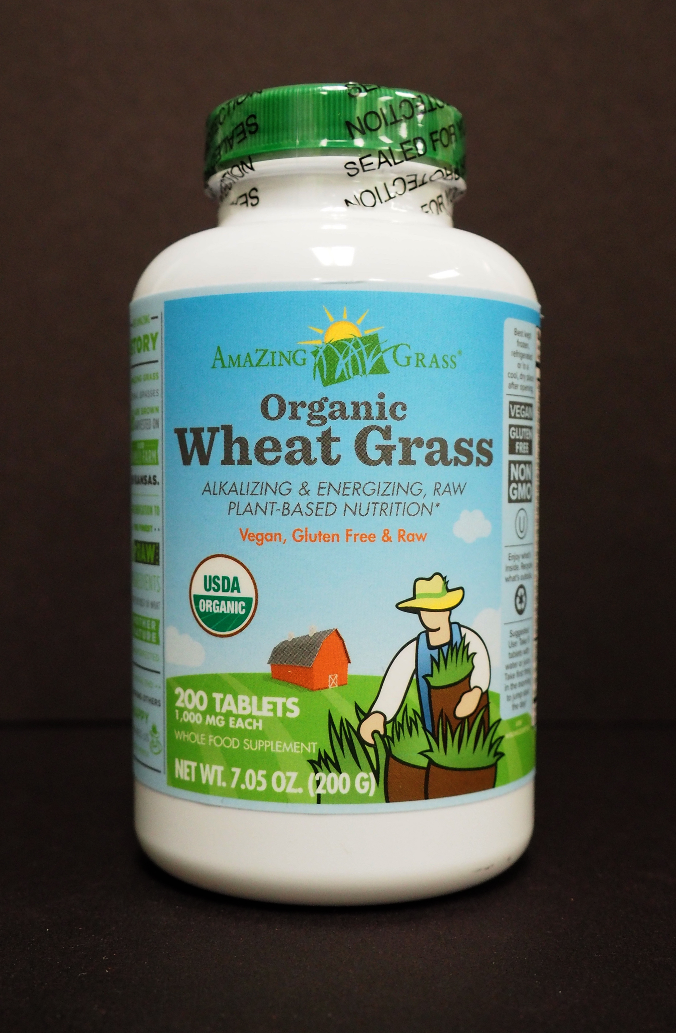 Organic Wheat Grass by Amazing Grass