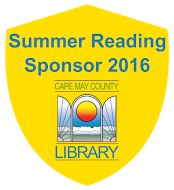 We are very excited to be sponsoring the Cape May County Library reading program this year! Promoting healthy bodies and healthy minds!