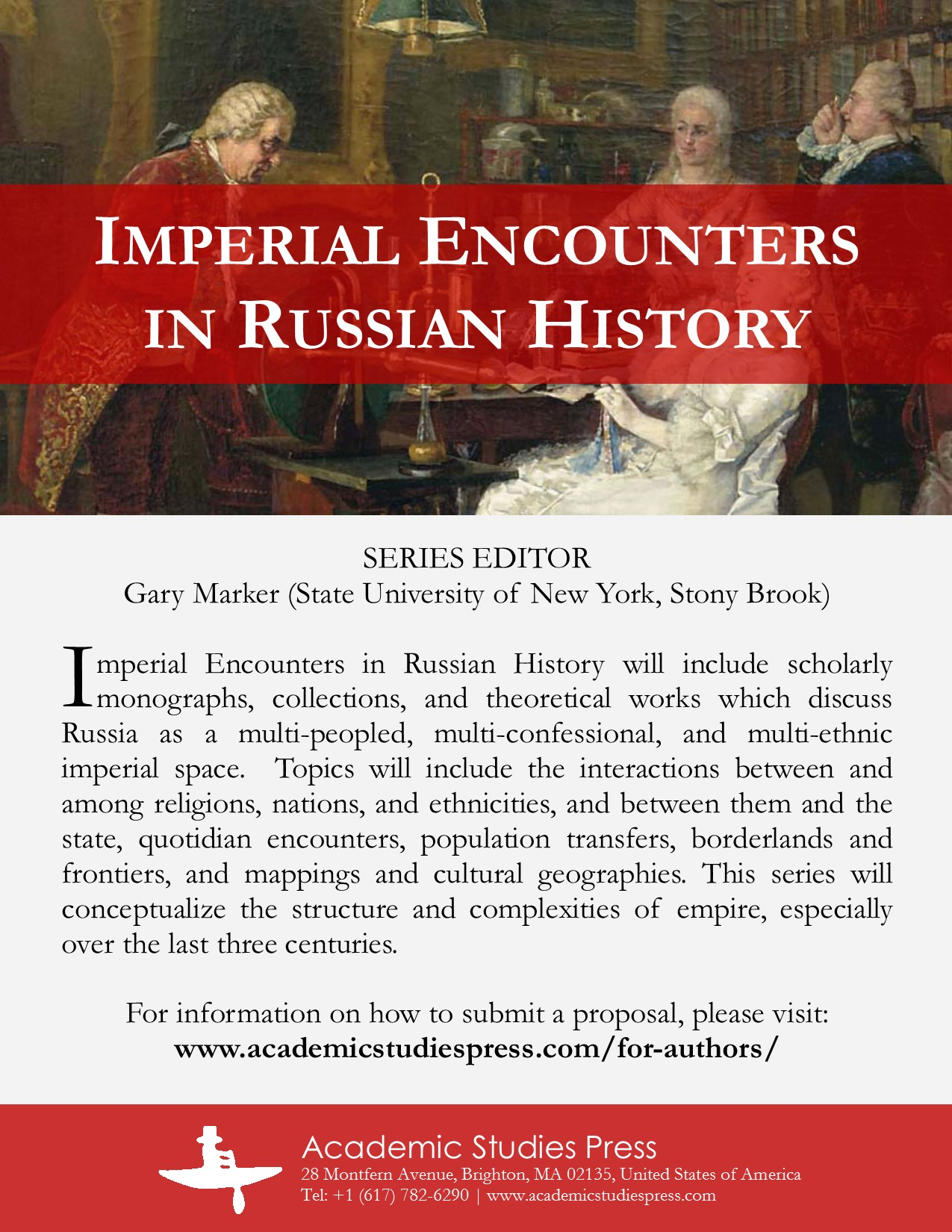 Imperial Encounters in Russian History Series Flyer