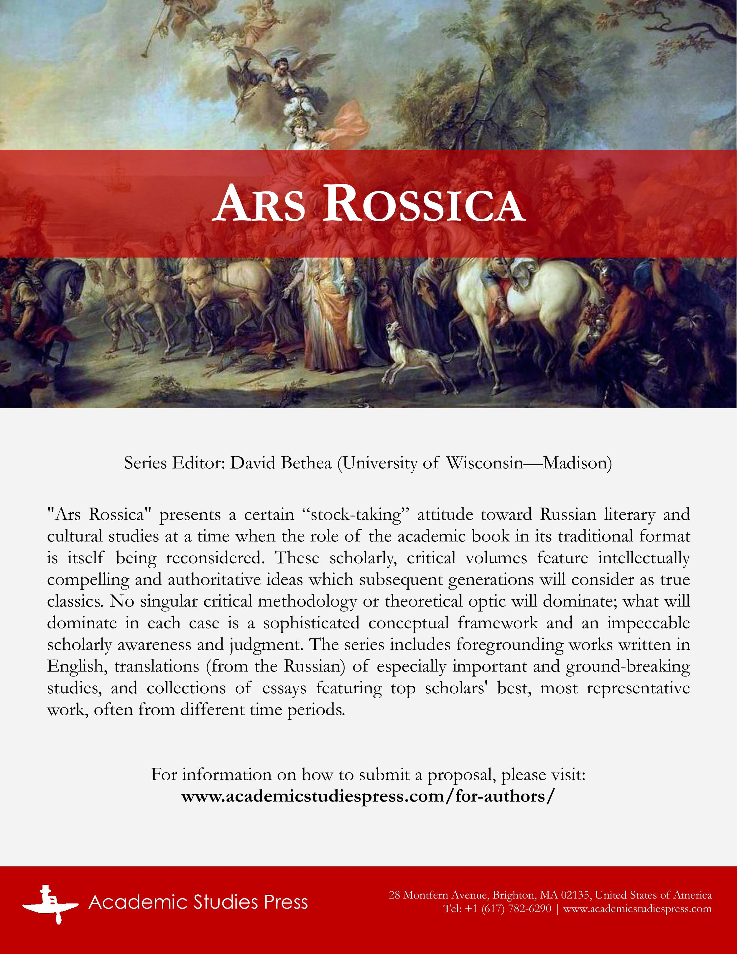 Ars Rossica Flyer