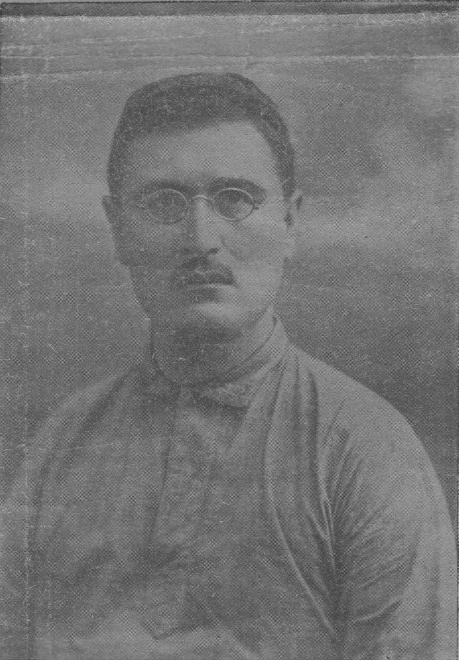 Abdulhamid Sulaymon o'g'li Cho'lpon. Photograph taken in the 1920s.
