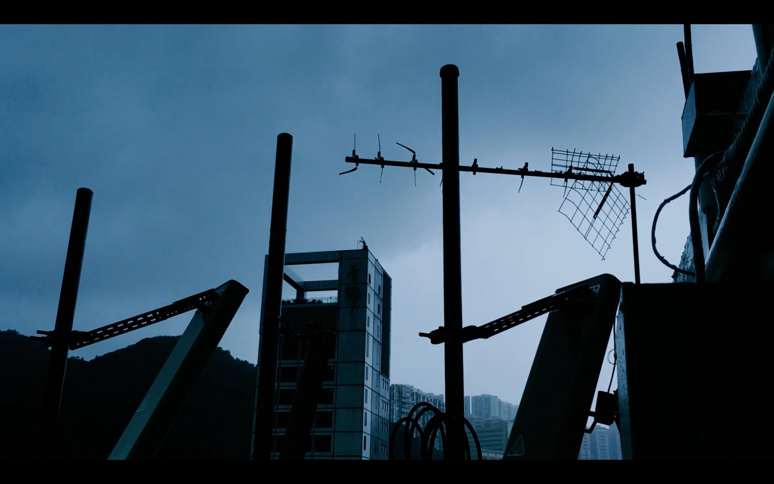 still frame from «present day boundaries shown». Patuá Films 2017