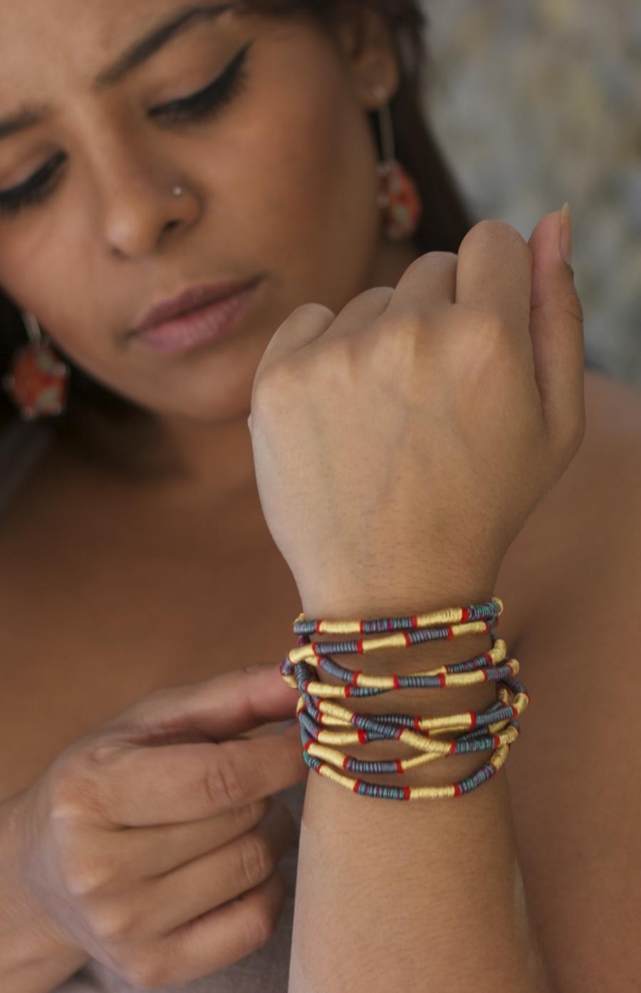 Or wear as a wrap bracelet