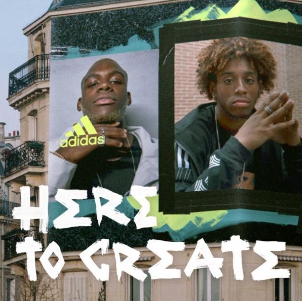 adidas:  CREATE, GET NOTICED