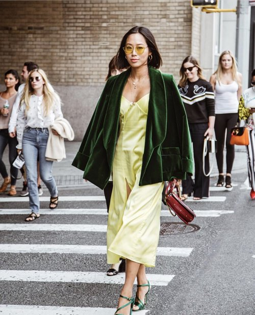 best street style from new york fashion week spring summer