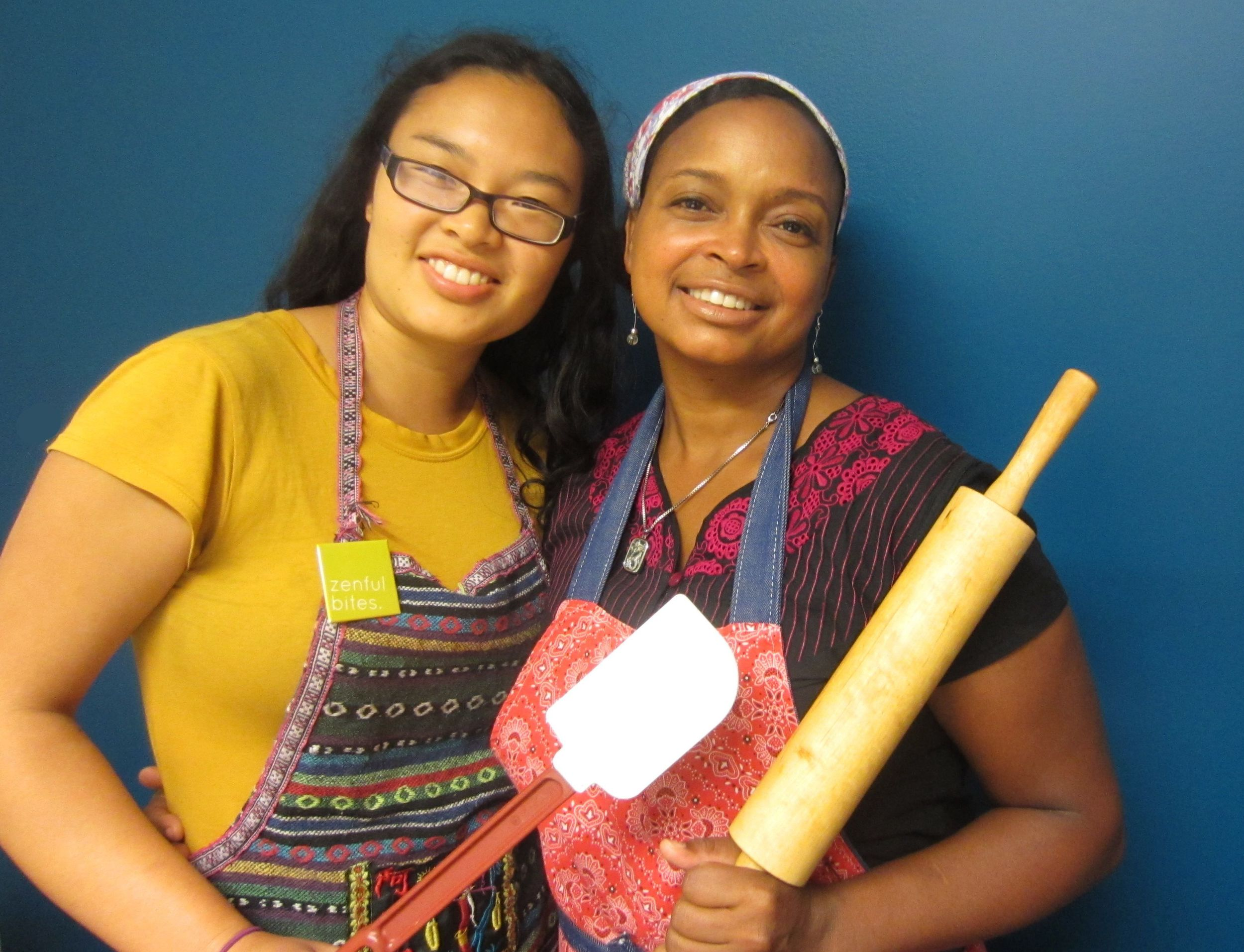 Co-founders Josephine Chu and Yolanda Hawthorne