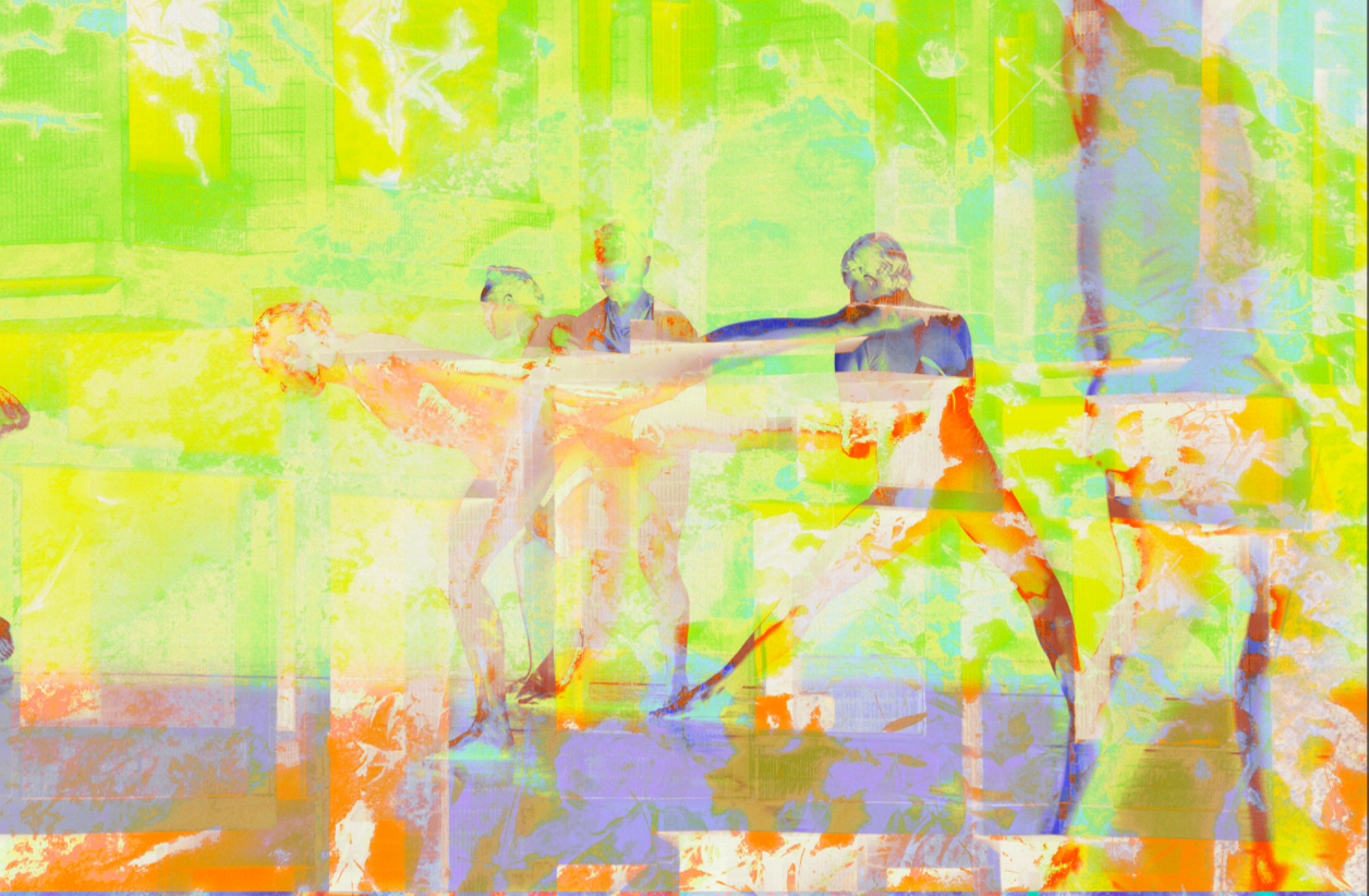 James Welling. 7809 , 2015 (Photographs courtesy the artist, David Zwirner, New York/London and Peter Freeman Inc, Paris.Thanks to the Untitled Dance, L. A. Dance Project and Kyle Abraham/Abraham.In.Motion)