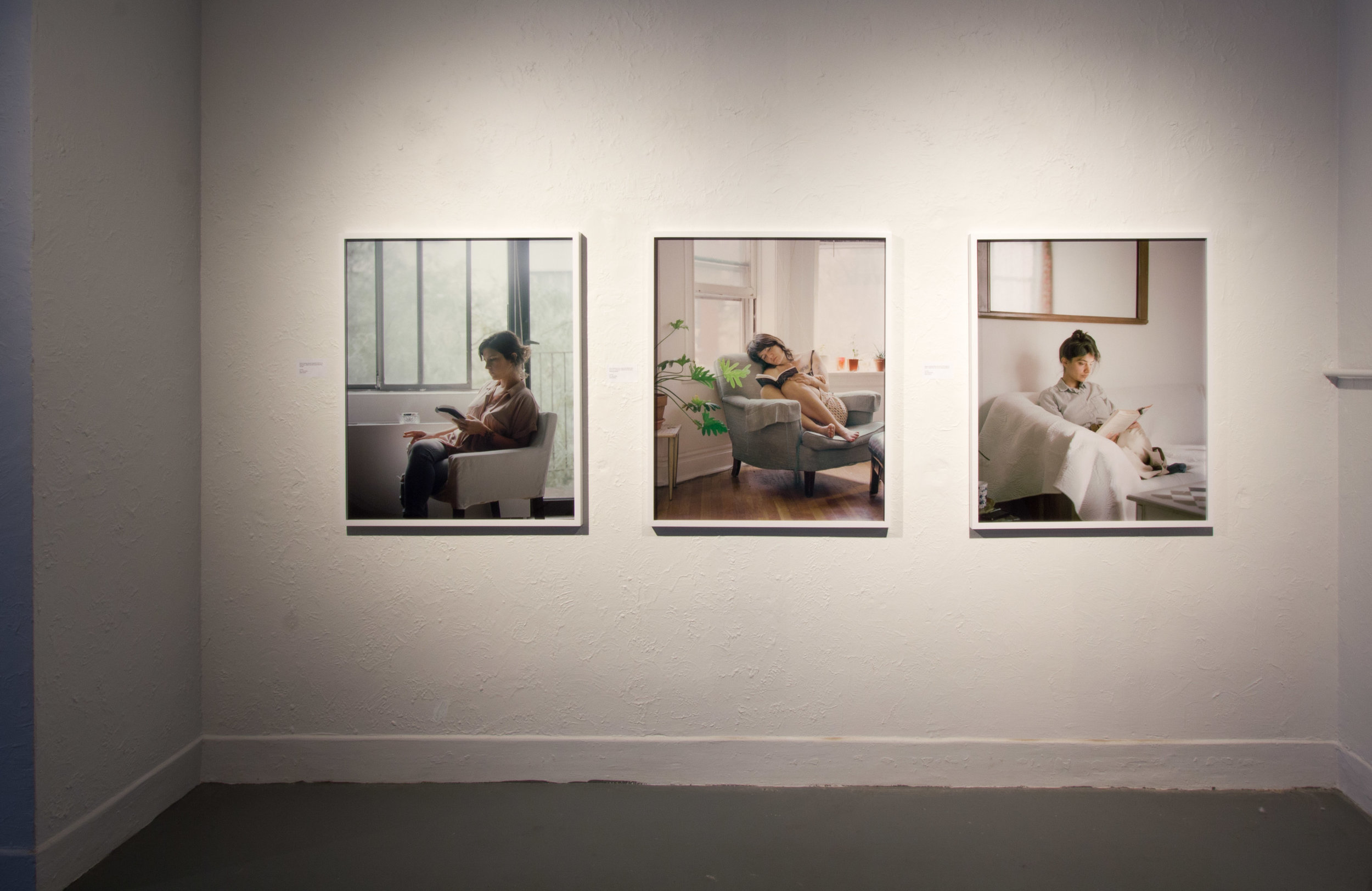 Carrie Schneider, from the series Reading Women (2012-2014)
