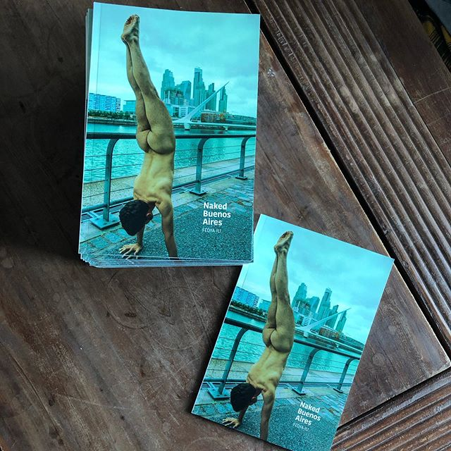 Fresh printed Naked Buenos Aires // get your copy ifedya.com/nakedcities or check out the stories  #nakedcities #nakedbienosaires #gaybook #pride #pridemonth #stophomophobia #gayart
