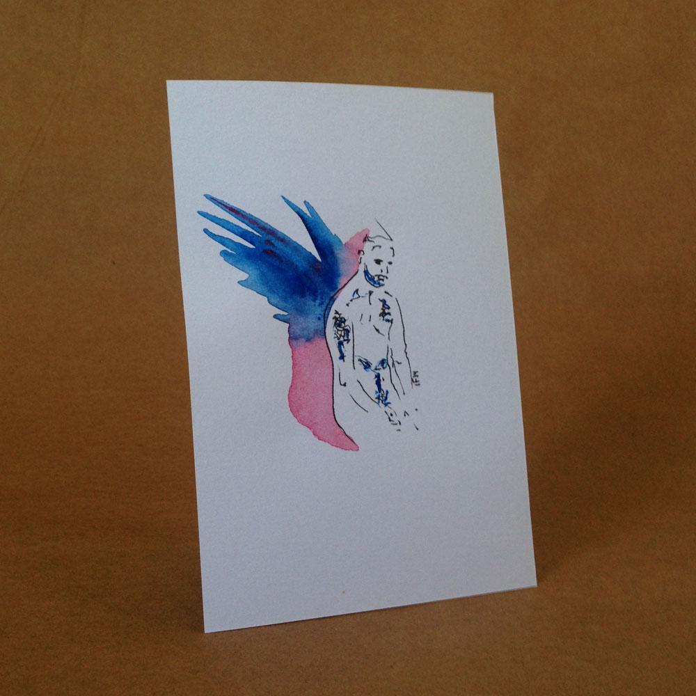 Aqua Cards -