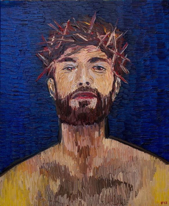 Self (2013) oil on canvas, 55x46