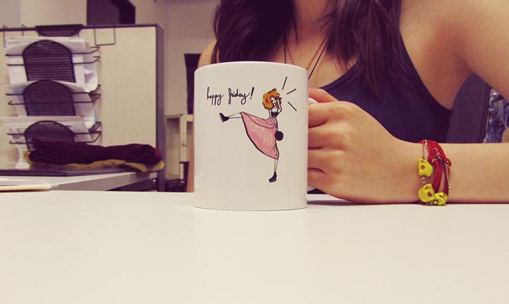 happy friday mug me