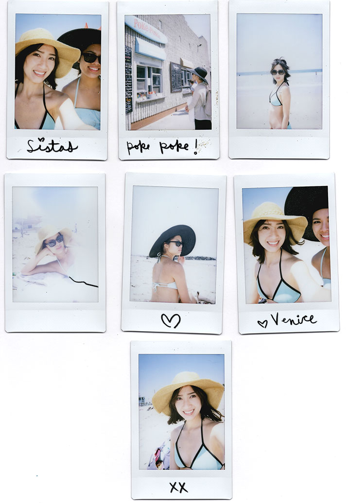 venice beach polaroids