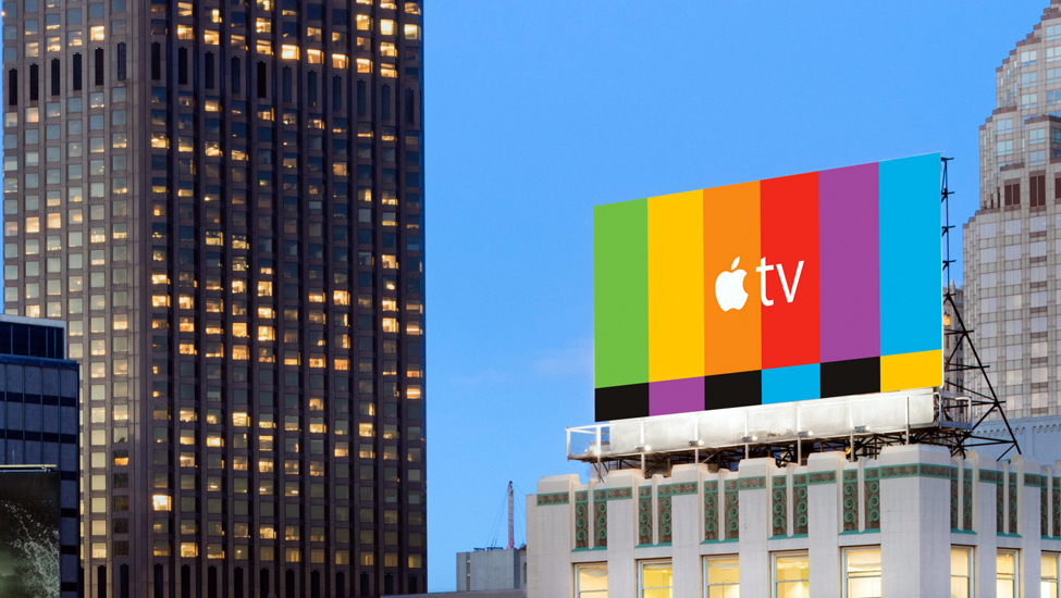 television, ooh    apple tv  view project